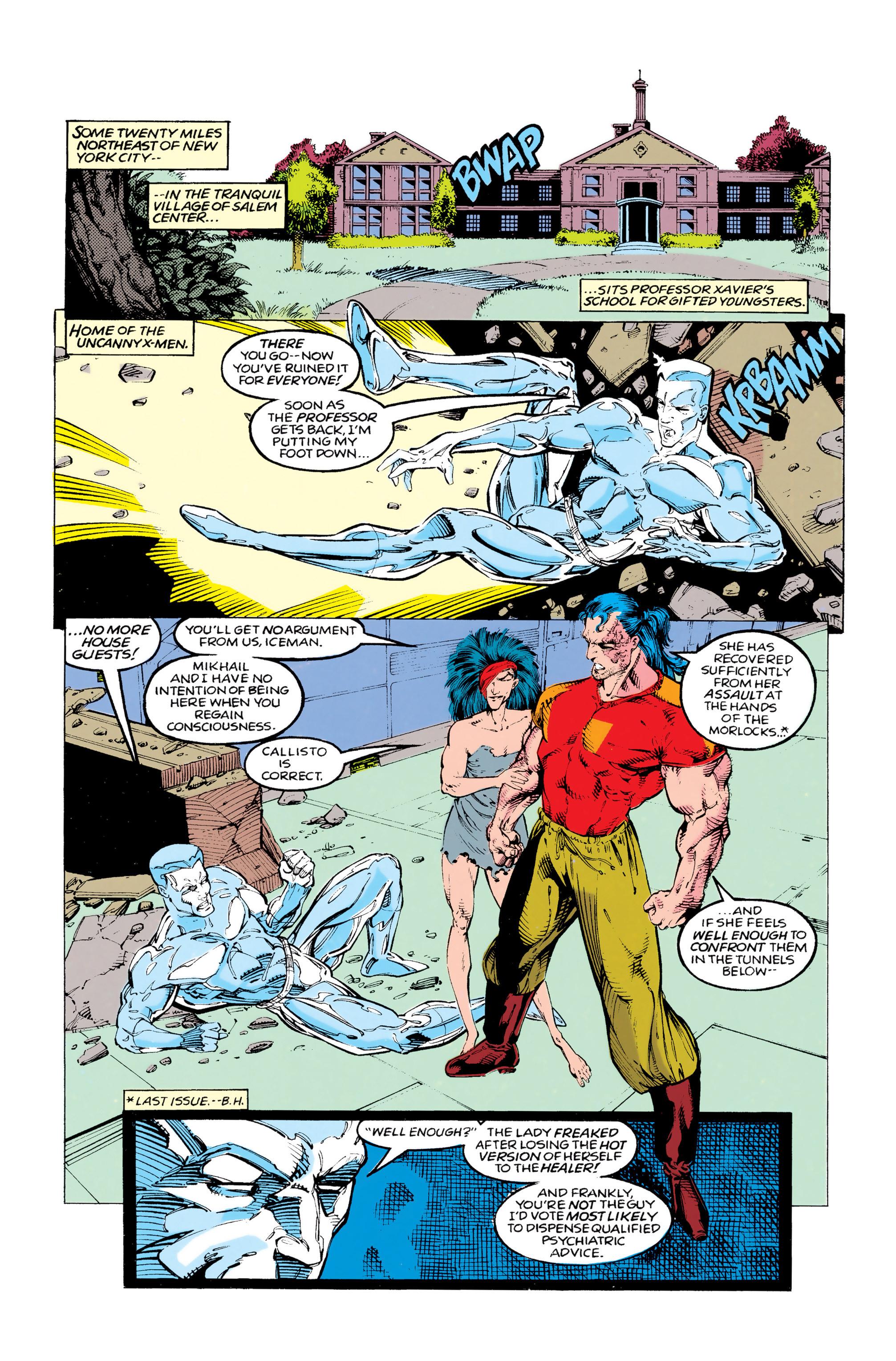 Read online Uncanny X-Men (1963) comic -  Issue #292 - 5