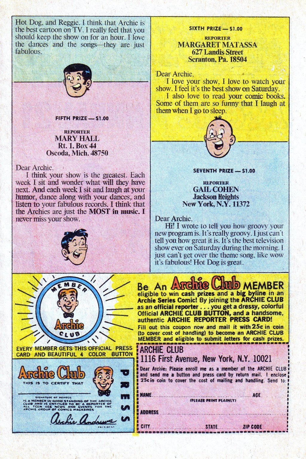 Read online Archie (1960) comic -  Issue #193 - 11