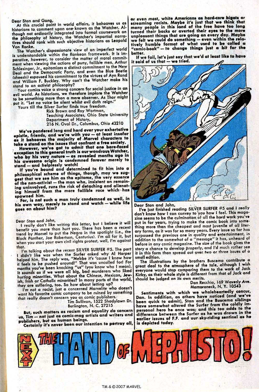 Read online Silver Surfer (1968) comic -  Issue #7 - 65