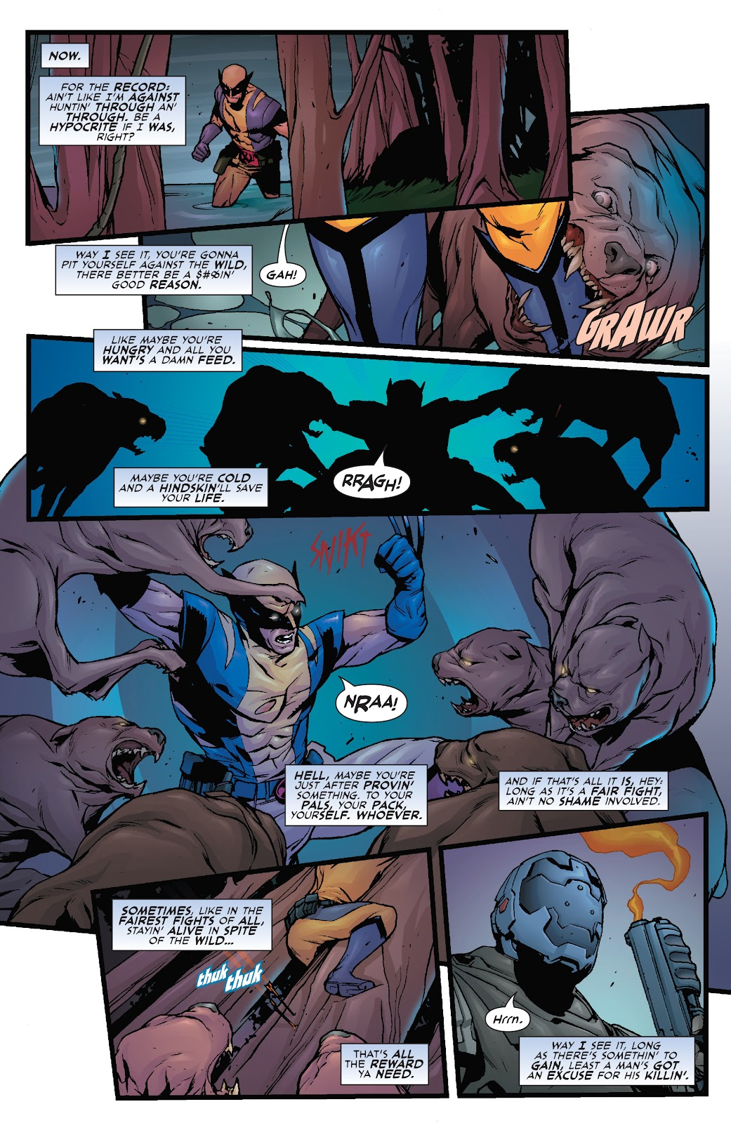 Wolverine: Dangerous Games issue Full - Page 8
