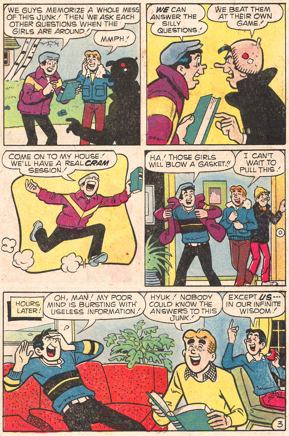 Read online Archie's Girls Betty and Veronica comic -  Issue #279 - 5