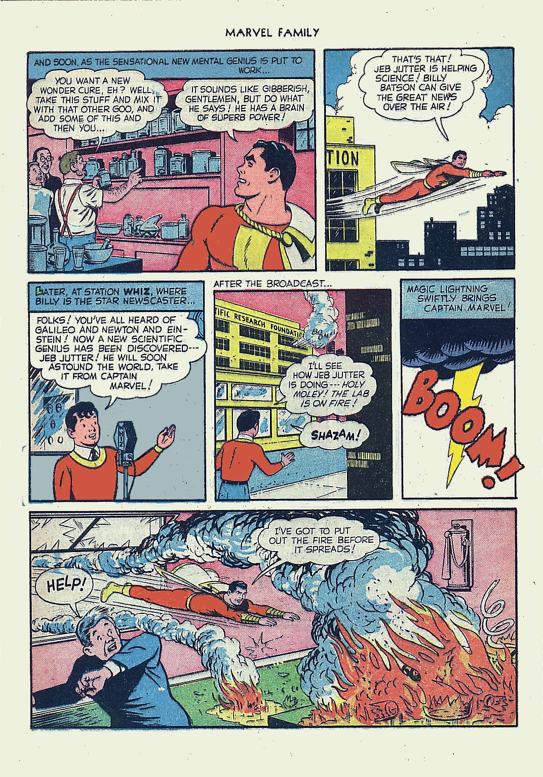 The Marvel Family issue 61 - Page 28