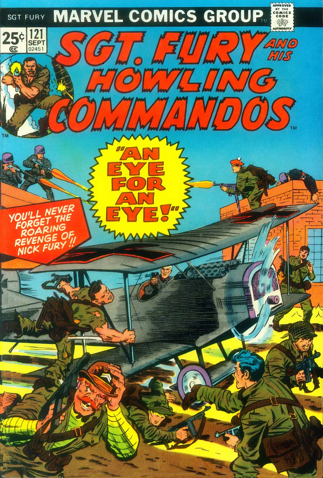 Read online Sgt. Fury comic -  Issue #121 - 1