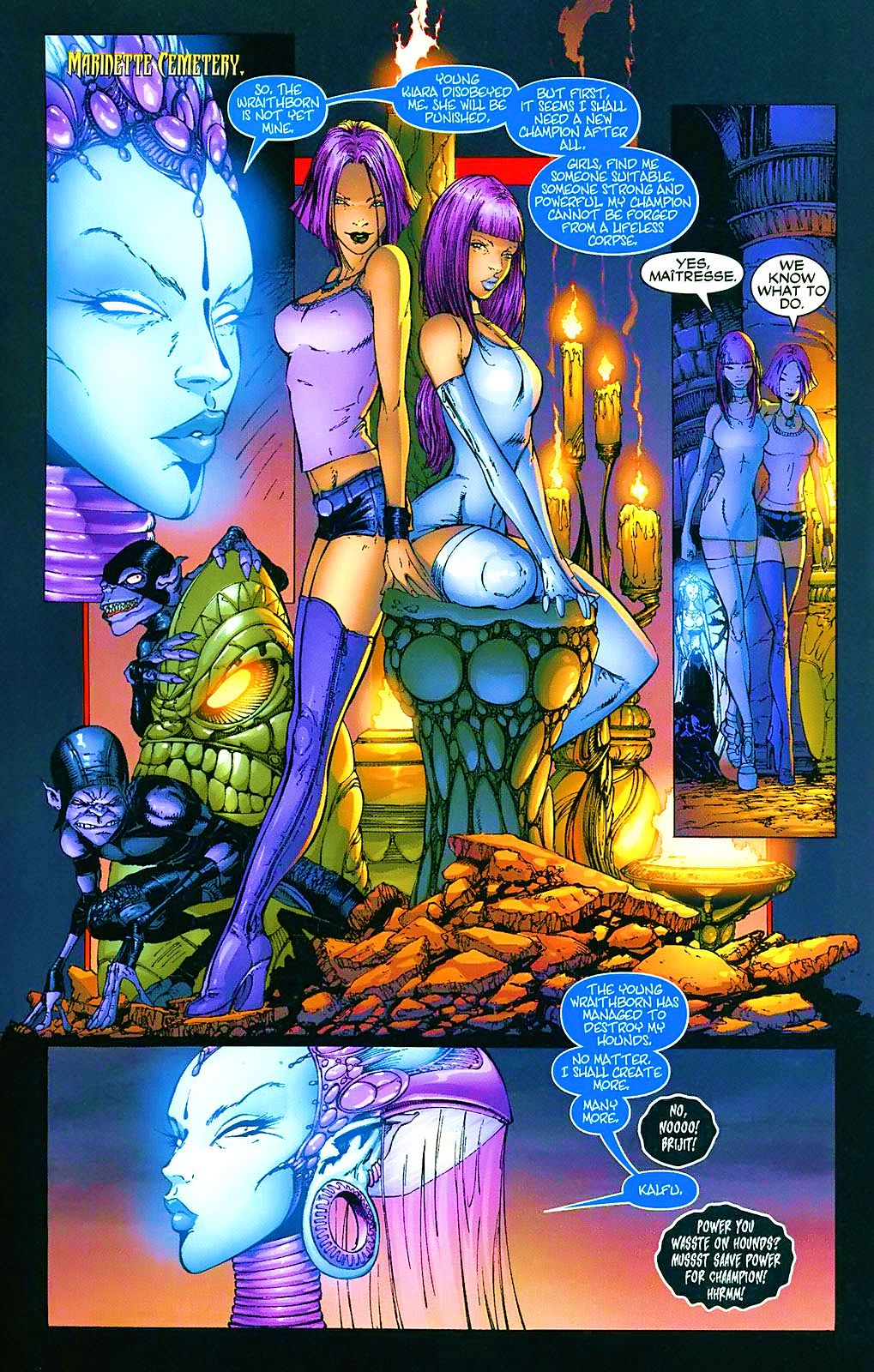 Read online Wraithborn comic -  Issue #4 - 6