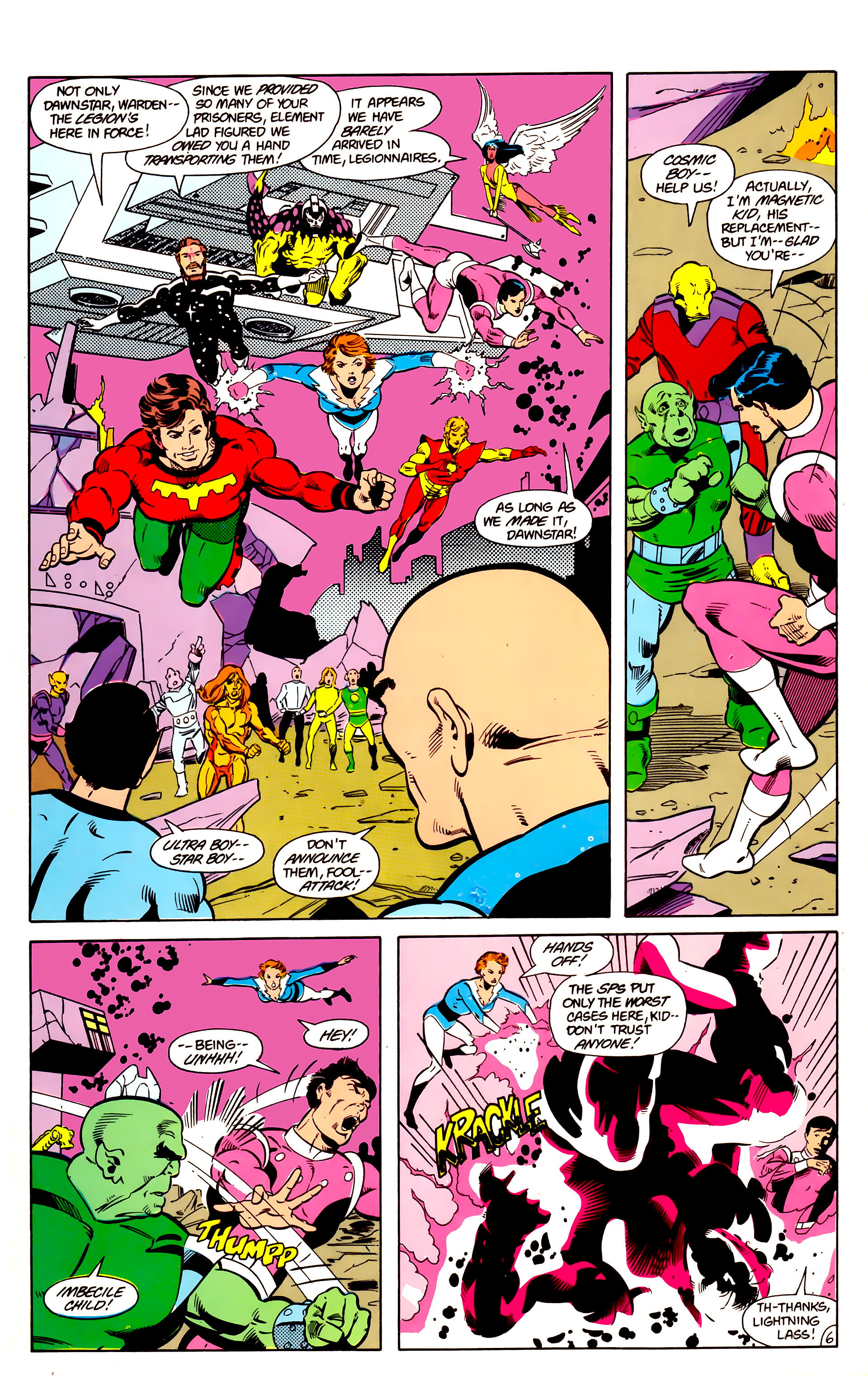 Legion of Super-Heroes (1984) 18 Page 6