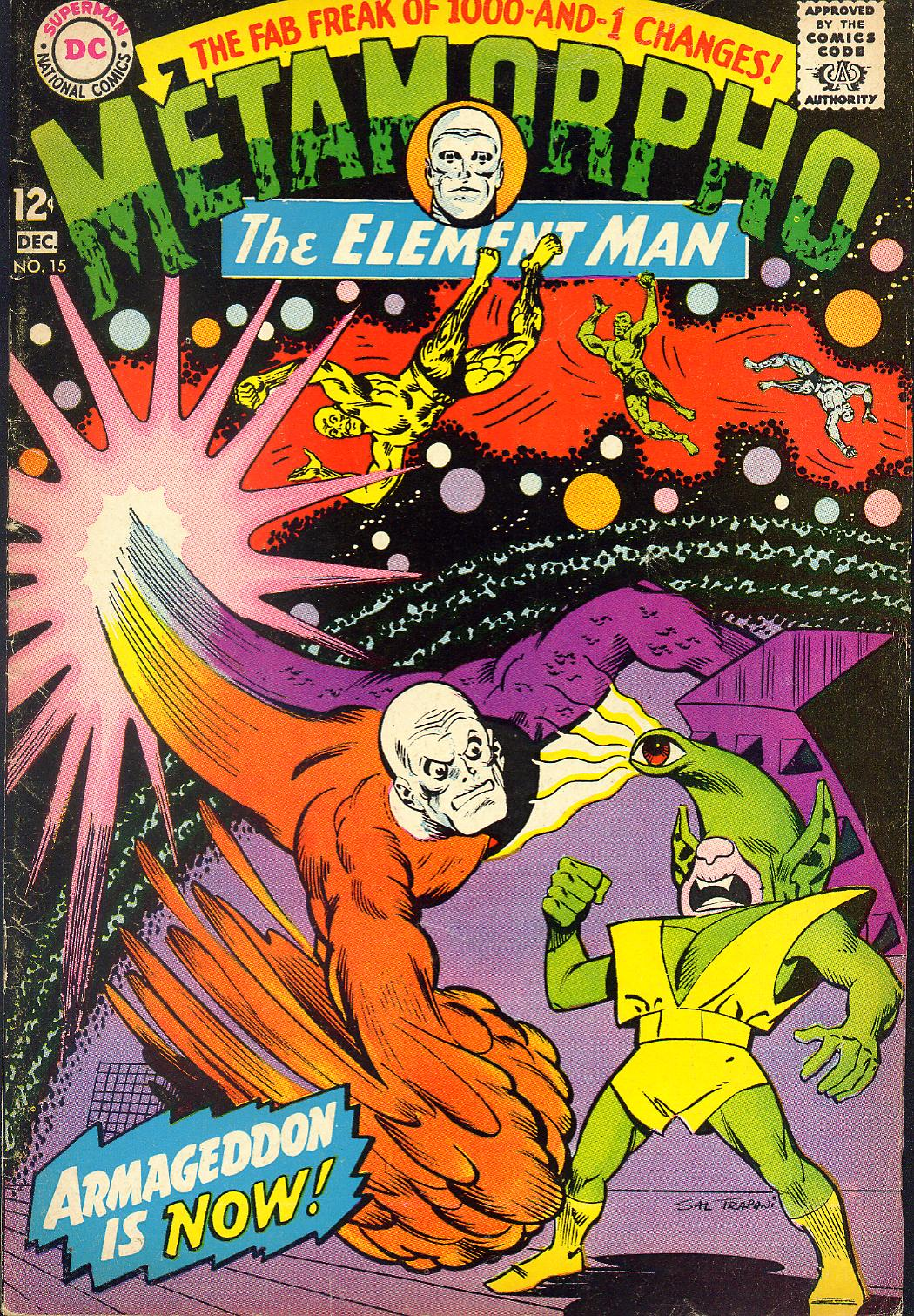 Metamorpho (1965) issue 15 - Page 1