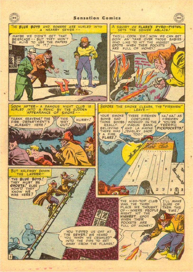 Read online Sensation (Mystery) Comics comic -  Issue #70 - 19