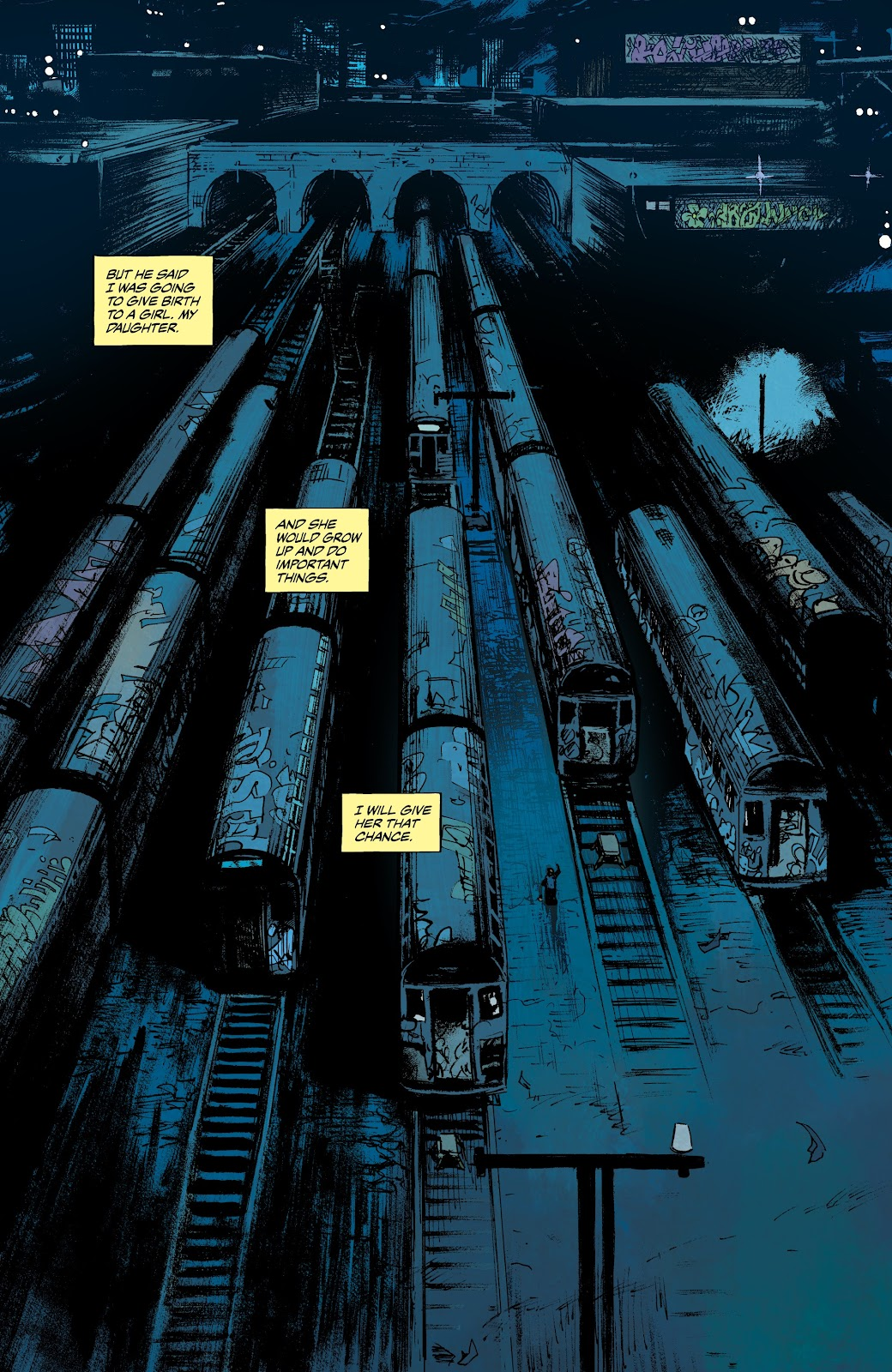 Read online The Terminator: Sector War comic -  Issue #3 - 21