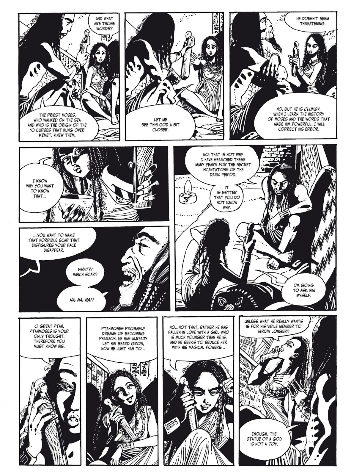 Read online The Egyptian Princesses comic -  Issue # TPB 1 (Part 2) - 6