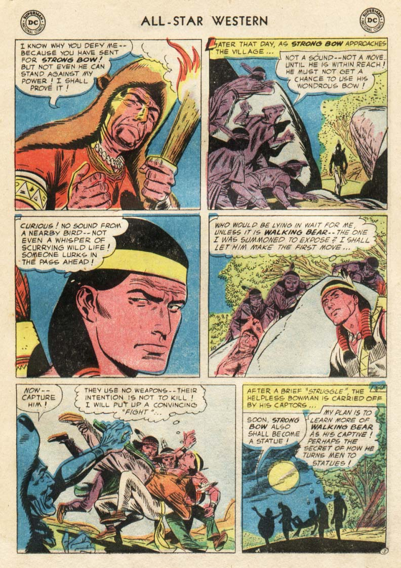 Read online All-Star Western (1951) comic -  Issue #91 - 10