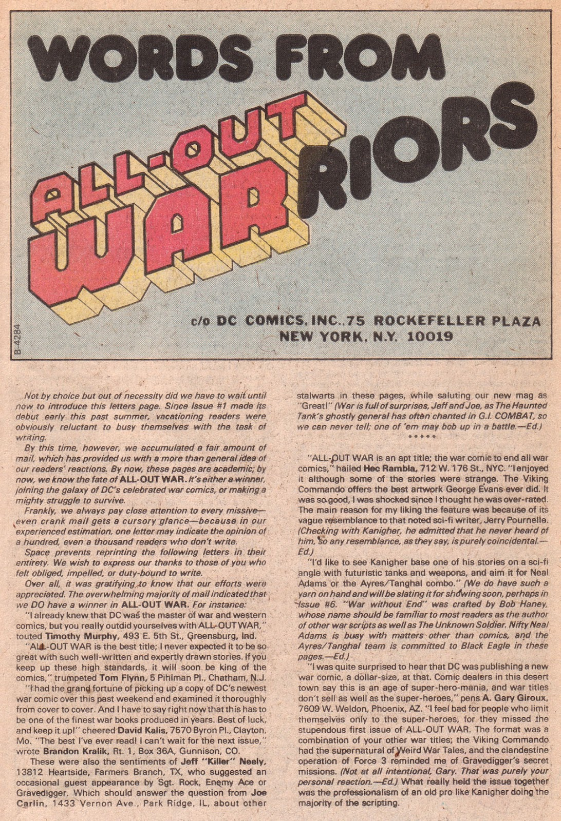 Read online All-Out War comic -  Issue #5 - 50