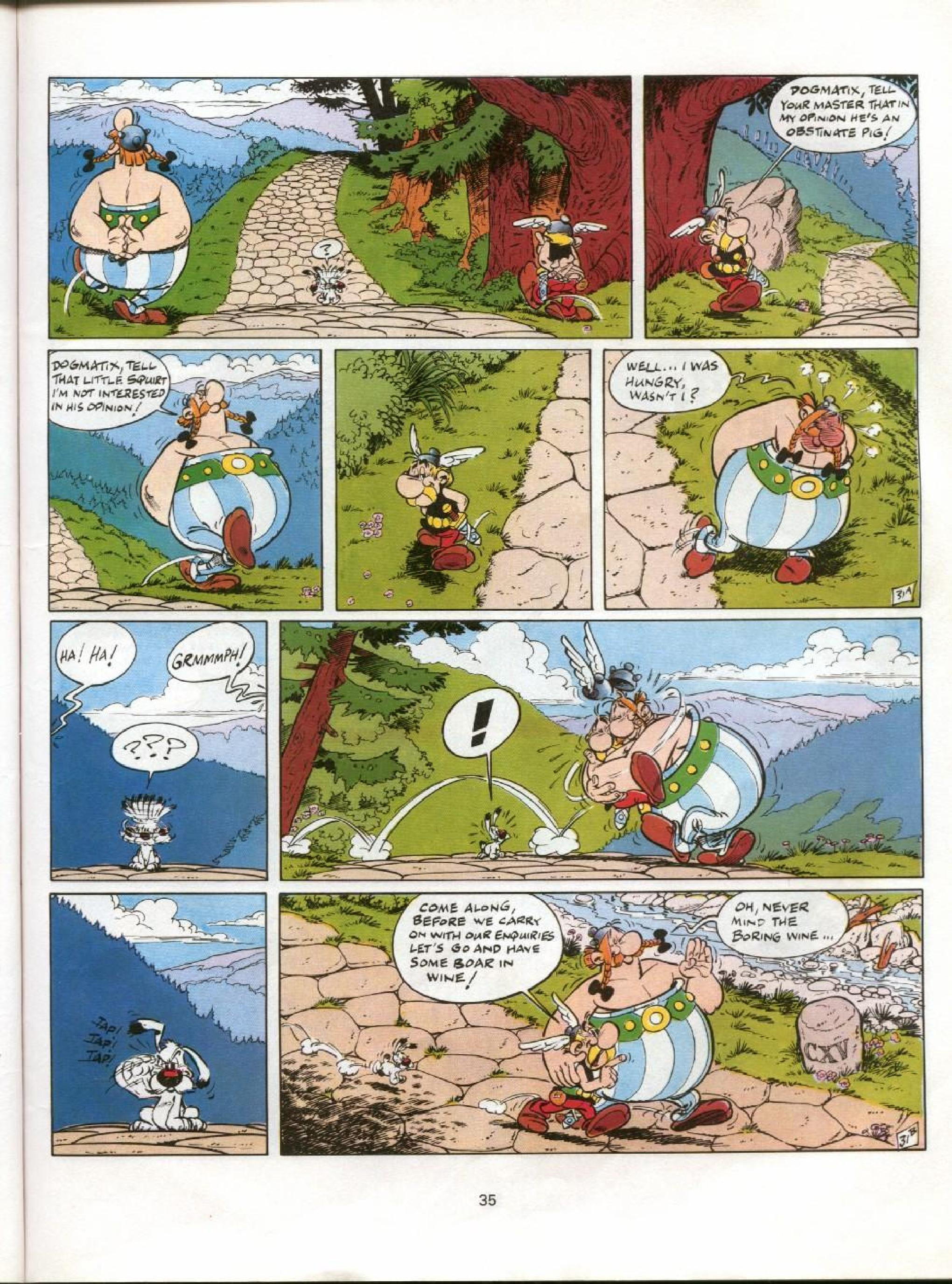 Read online Asterix comic -  Issue #11 - 32