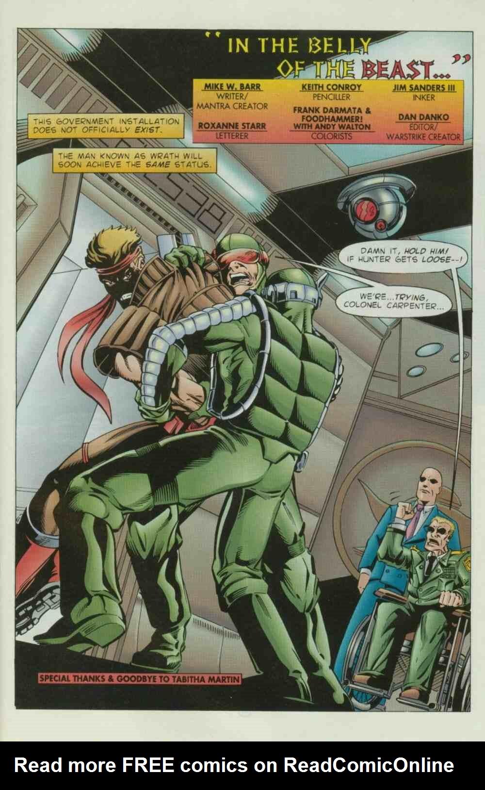 Read online Ultraverse Premiere comic -  Issue #8 - 31