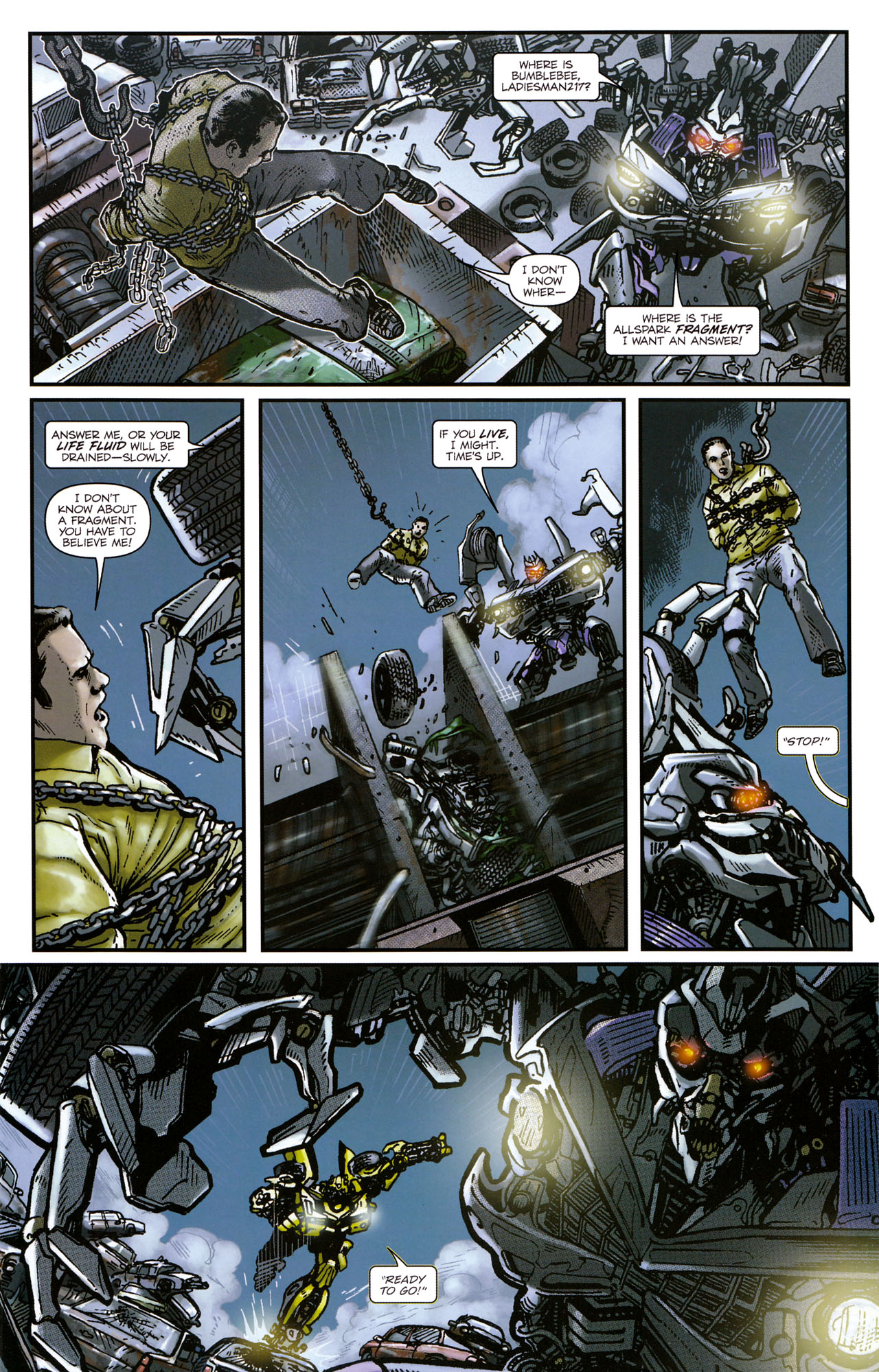 Read online Transformers: Tales of The Fallen comic -  Issue #1 - 13
