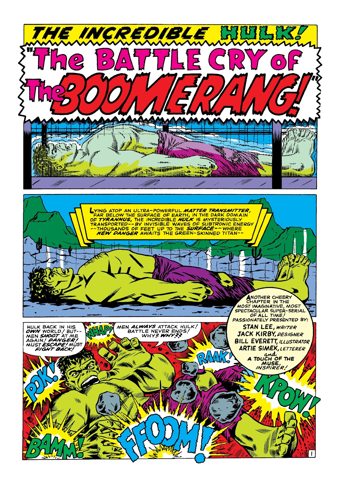 Read online Marvel Masterworks: The Incredible Hulk comic -  Issue # TPB 3 (Part 1) - 30
