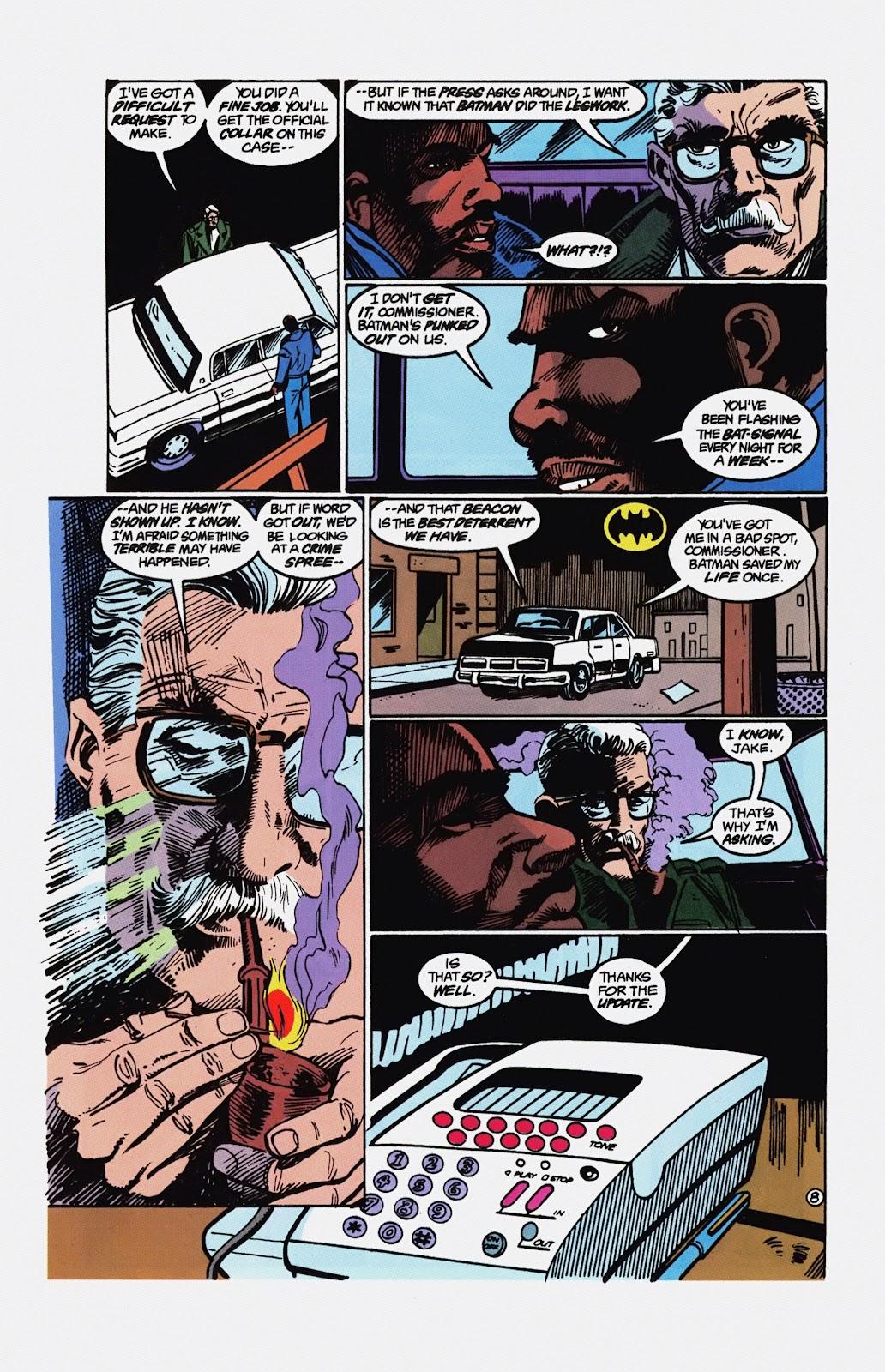 Read online Detective Comics (1937) comic -  Issue # _TPB Batman - Blind Justice (Part 1) - 95