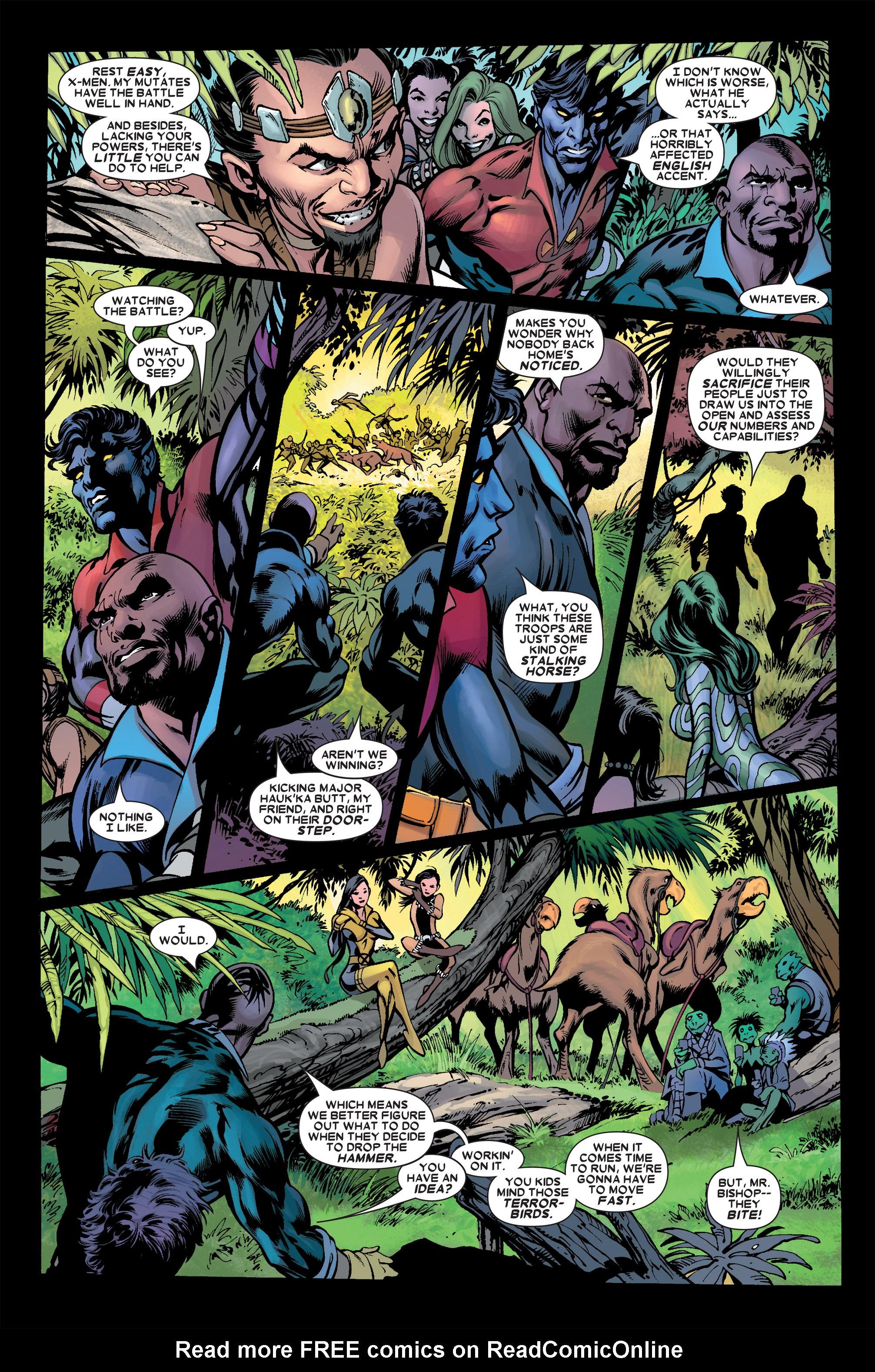 Read online Uncanny X-Men (1963) comic -  Issue #458 - 8