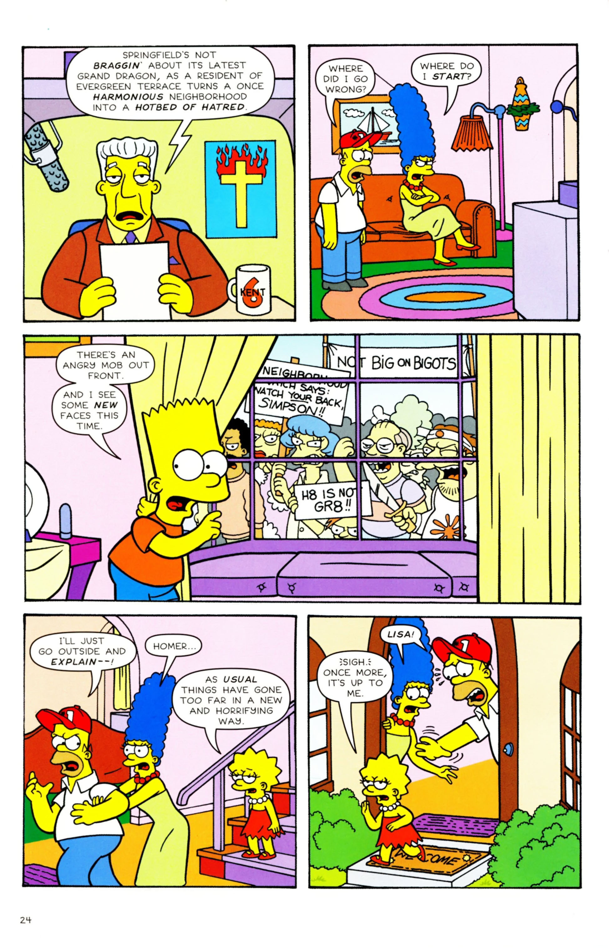 Read online Simpsons Comics comic -  Issue #158 - 20