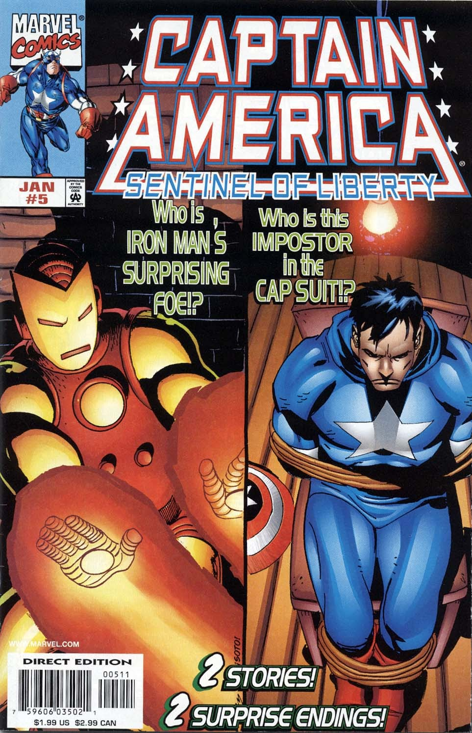 Captain America: Sentinel of Liberty 5 Page 1
