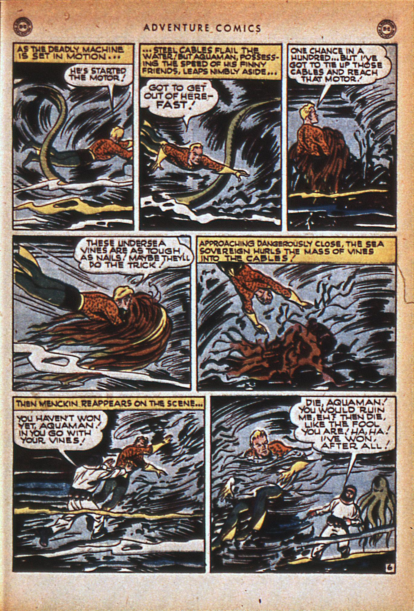 Read online Adventure Comics (1938) comic -  Issue #116 - 36