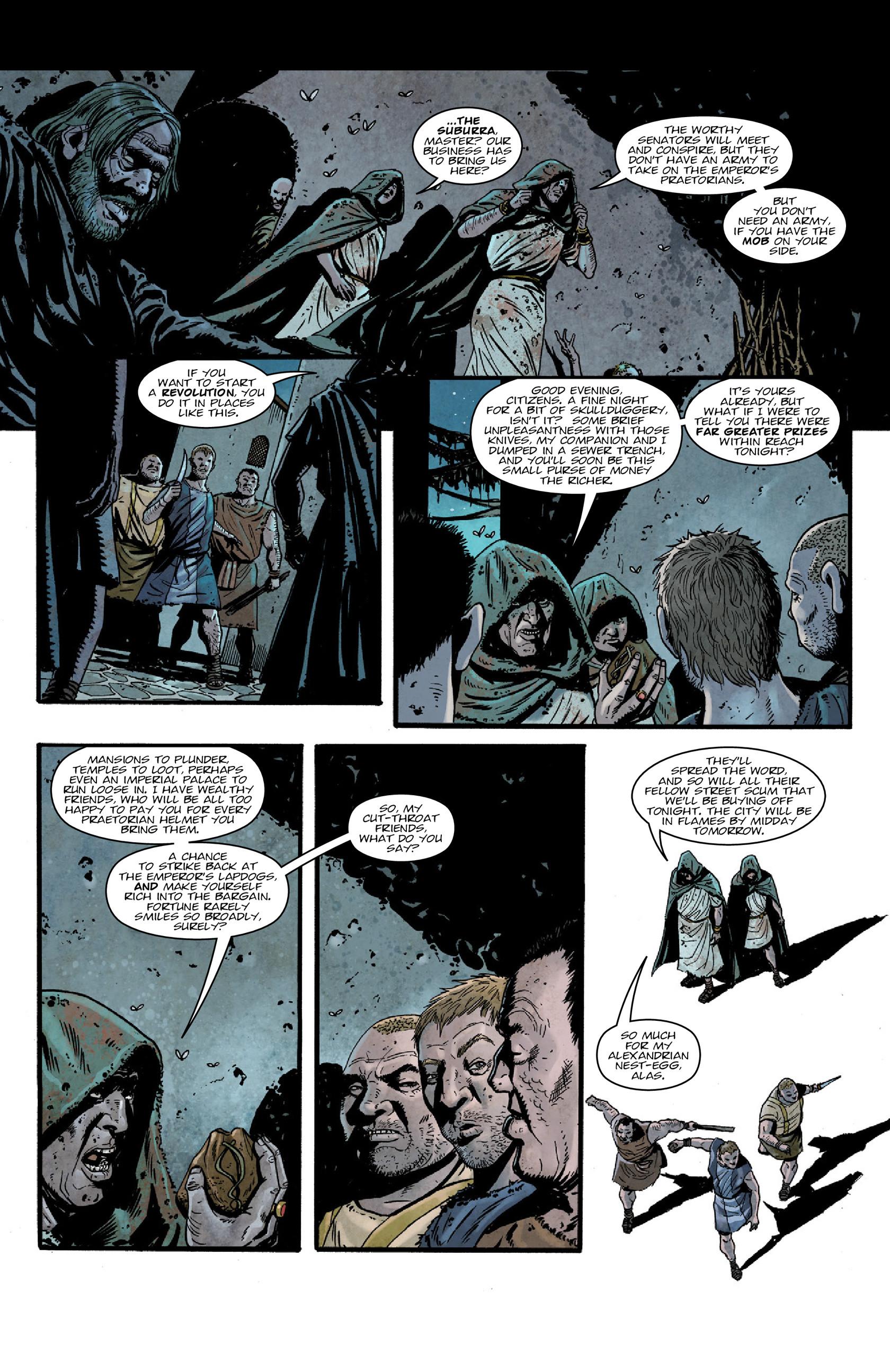 Read online Aquila comic -  Issue #5 - 14