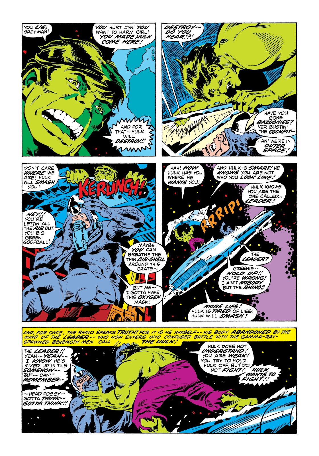 Read online Marvel Masterworks: The Incredible Hulk comic -  Issue # TPB 9 (Part 1) - 32