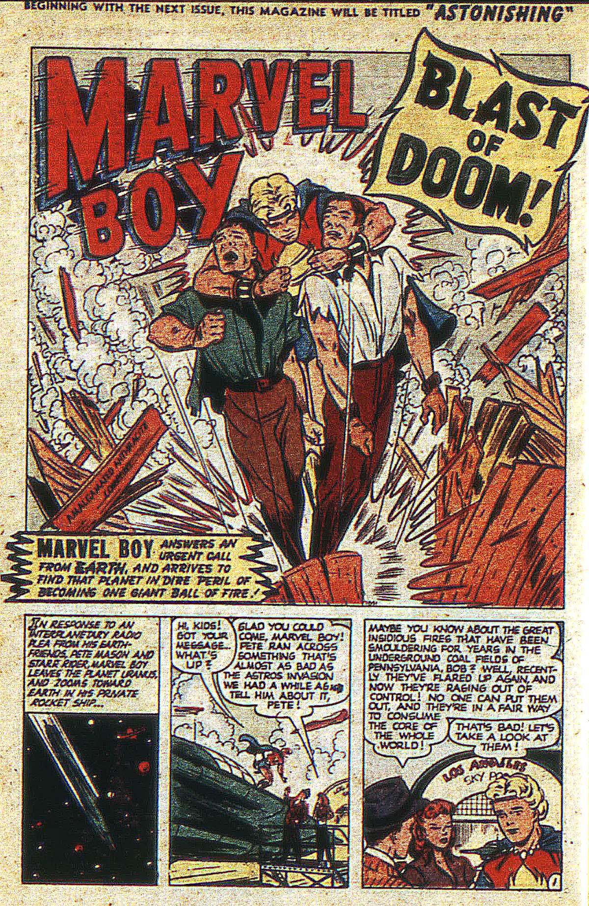 Read online Marvel Boy (1950) comic -  Issue #2 - 13
