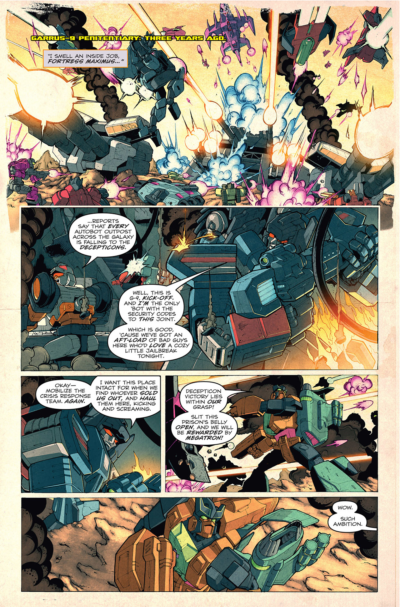 Read online Transformers: Last Stand of The Wreckers comic -  Issue #1 - 6
