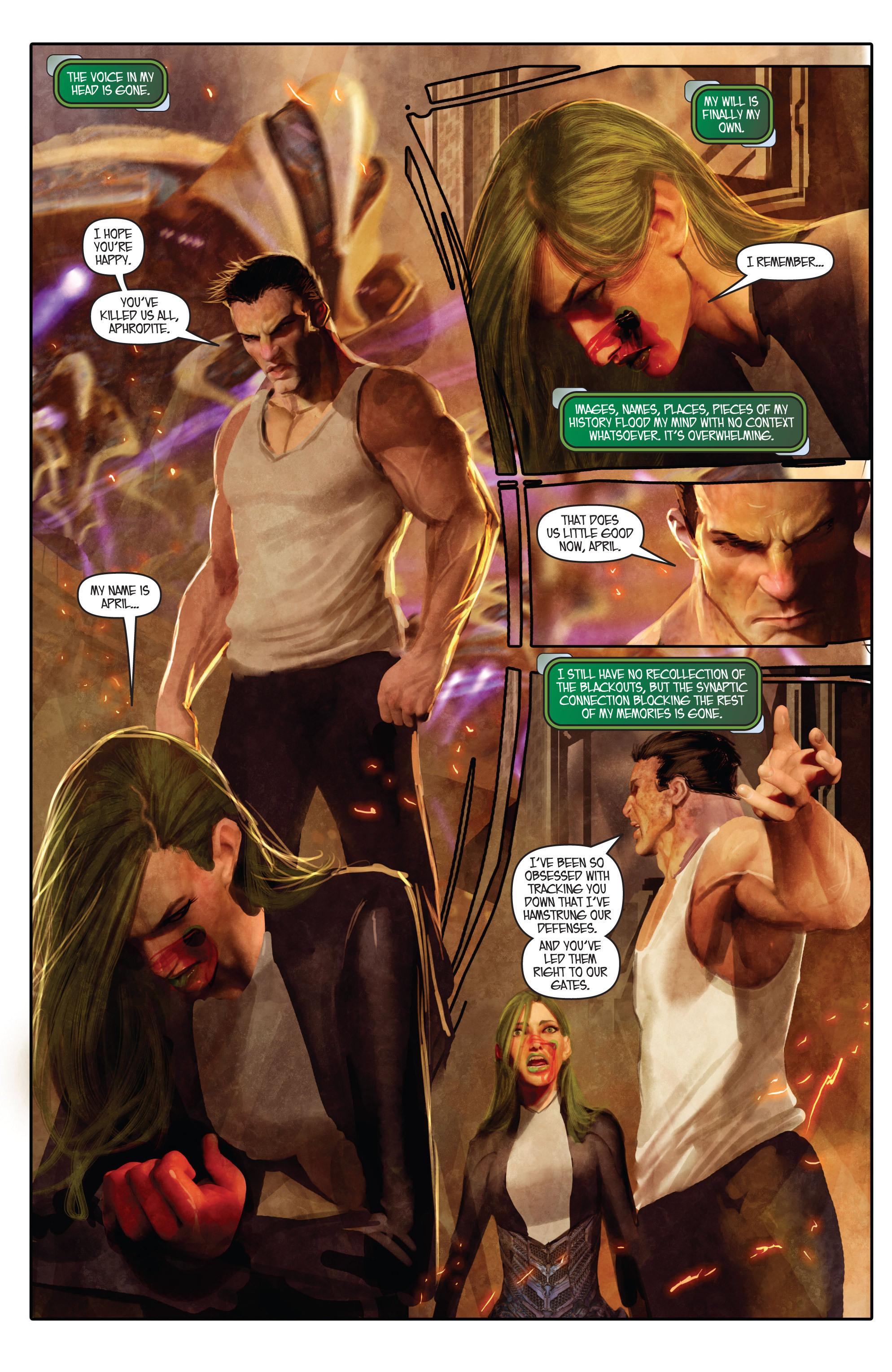 Read online Aphrodite IX (2013) comic -  Issue #Aphrodite IX (2013) _TPB 1 - 88