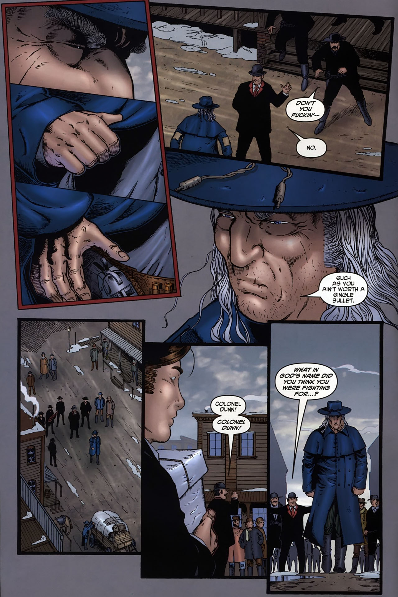 Read online Garth Ennis' Streets of Glory comic -  Issue #6 - 10