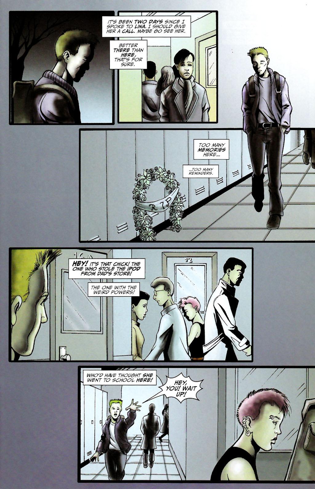 Read online ShadowHawk (2005) comic -  Issue #10 - 15
