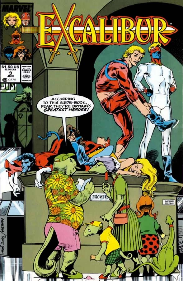 Excalibur (1988) issue 9 - Page 1