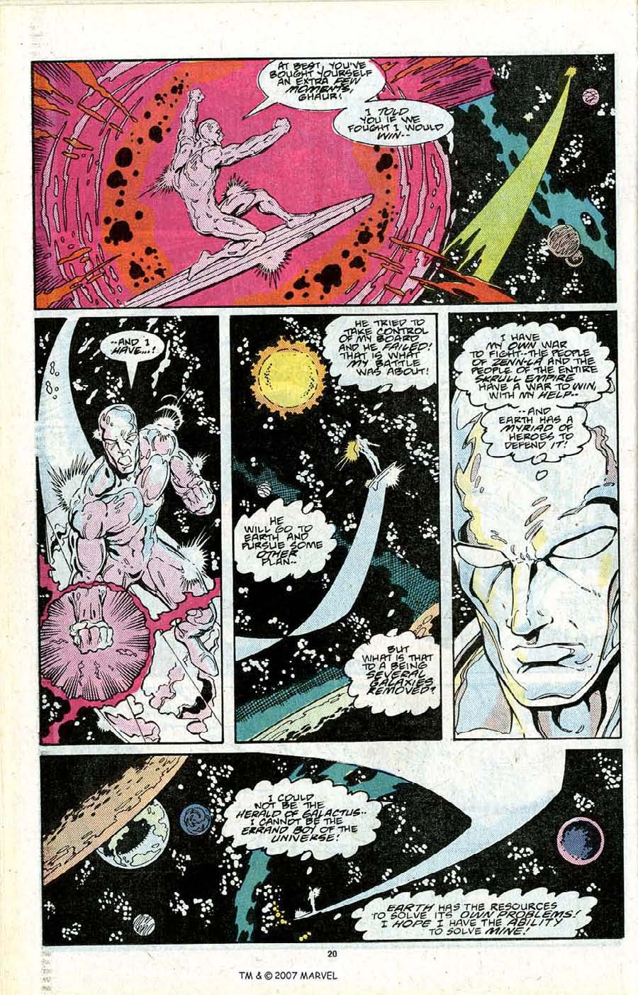 Read online Silver Surfer (1987) comic -  Issue # _Annual 2 - 22