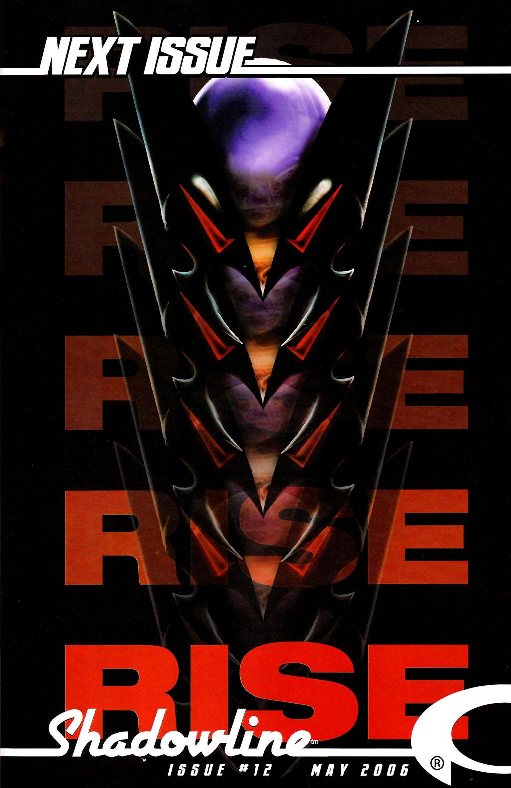 Read online ShadowHawk (2005) comic -  Issue #11 - 25