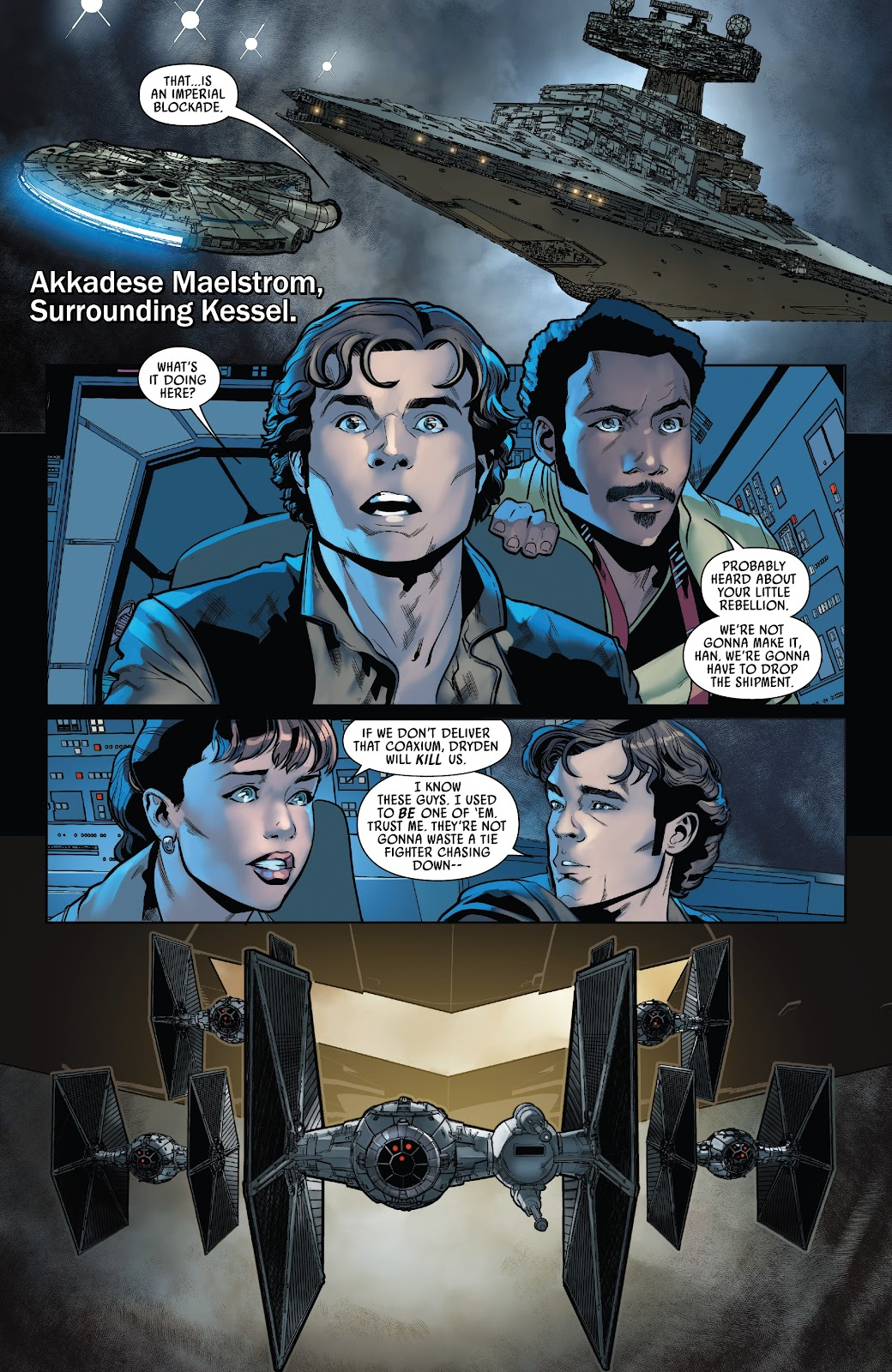 Read online Solo: A Star Wars Story Adaptation comic -  Issue #5 - 3