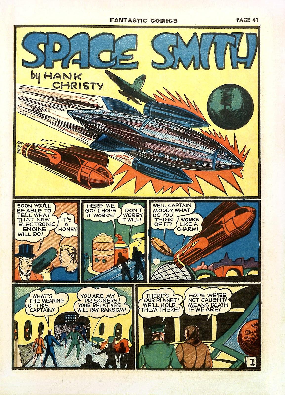 Read online Fantastic Comics comic -  Issue #11 - 44