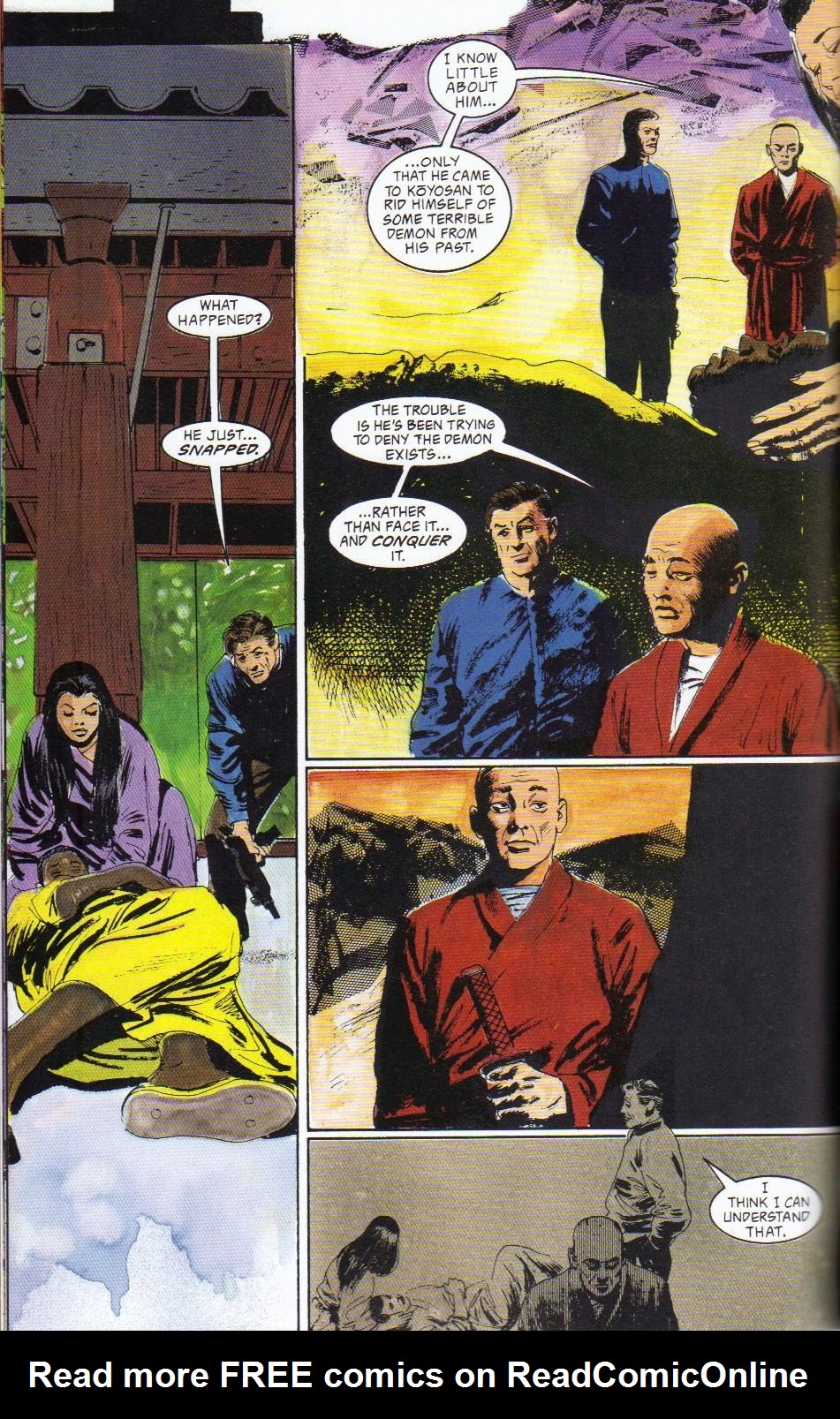 Read online Shado: Song of the Dragon comic -  Issue #2 - 32