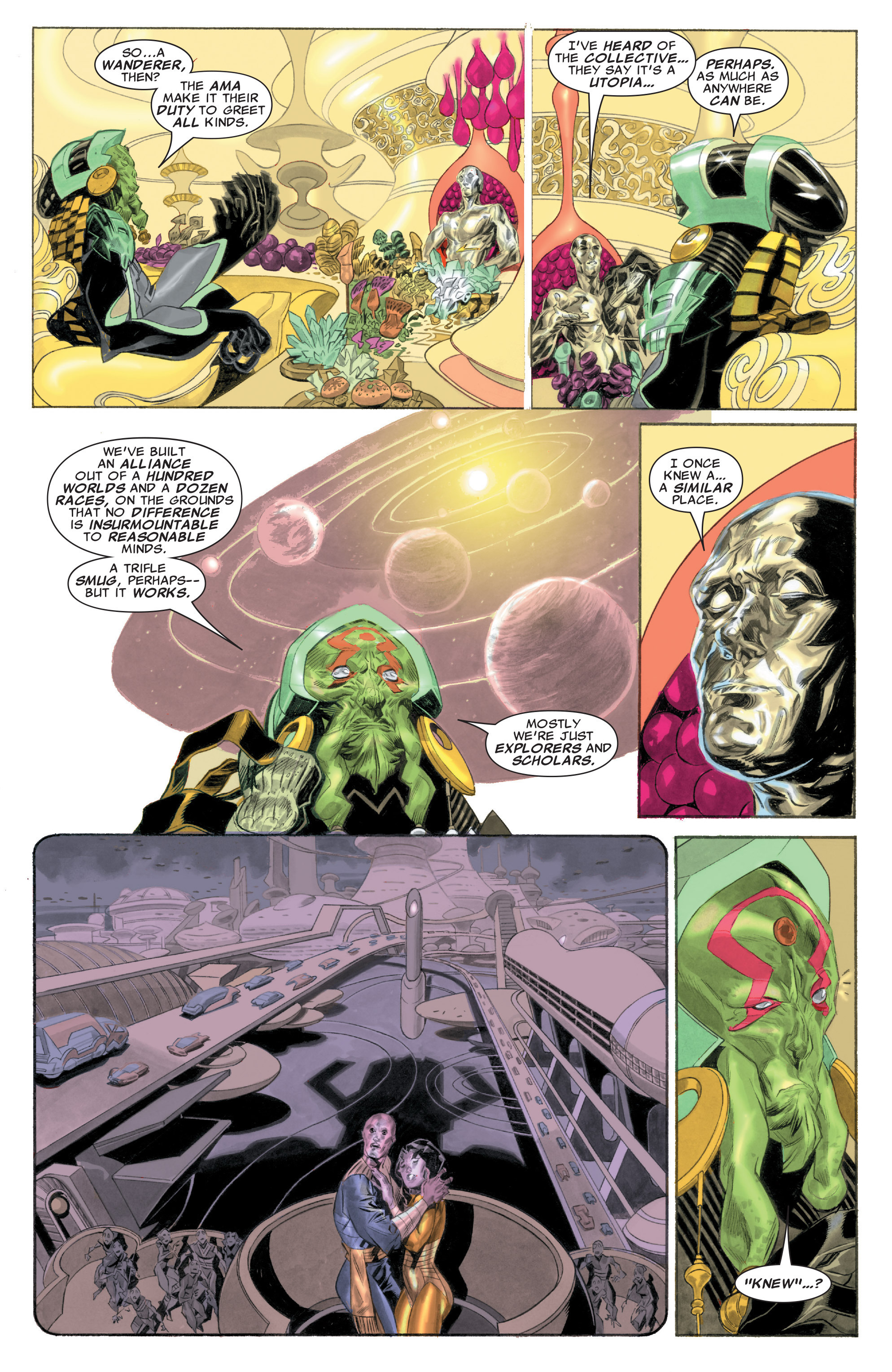 Read online Silver Surfer: In Thy Name comic -  Issue #1 - 9