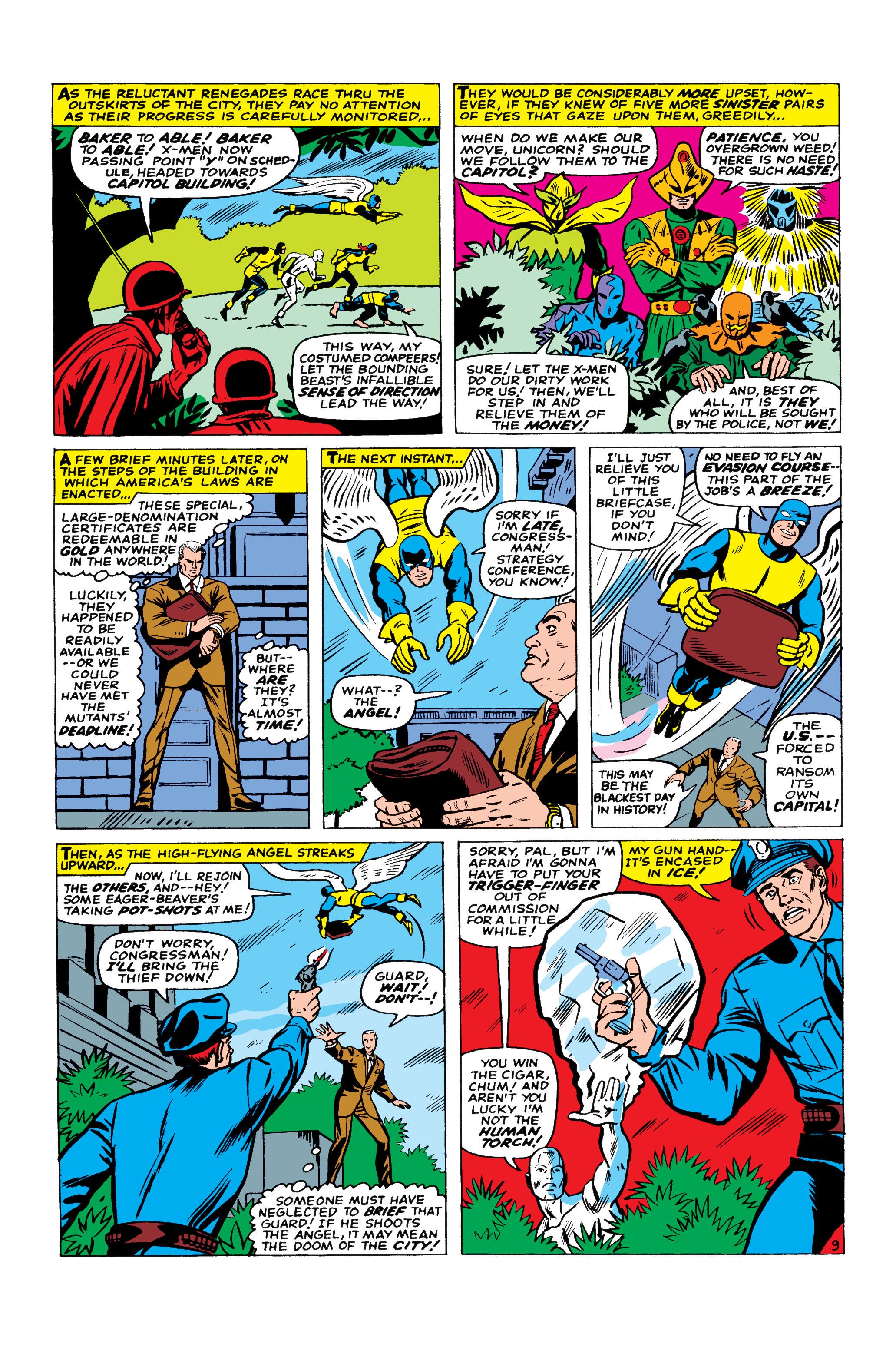 Read online Uncanny X-Men (1963) comic -  Issue #23 - 10