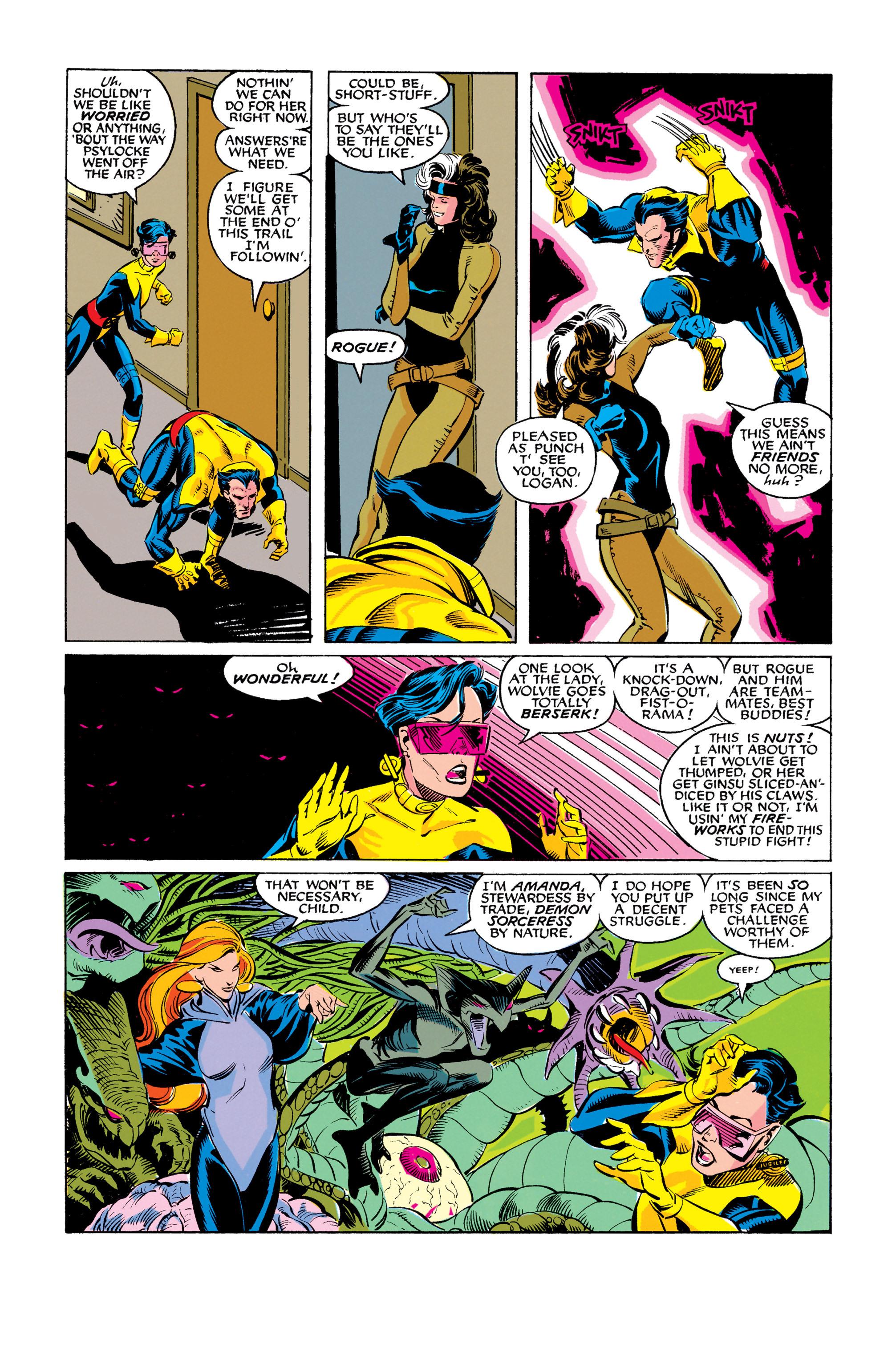 Read online Uncanny X-Men (1963) comic -  Issue #278 - 20