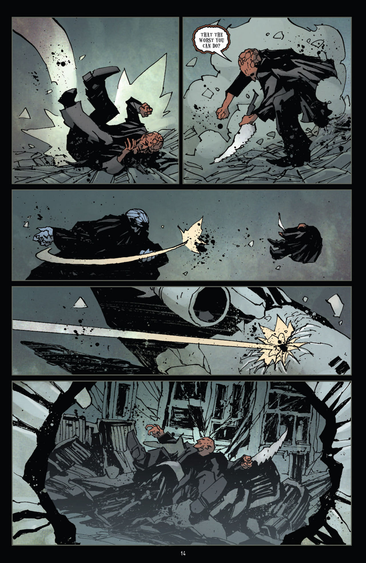 Read online 30 Days of Night (2011) comic -  Issue #12 - 15