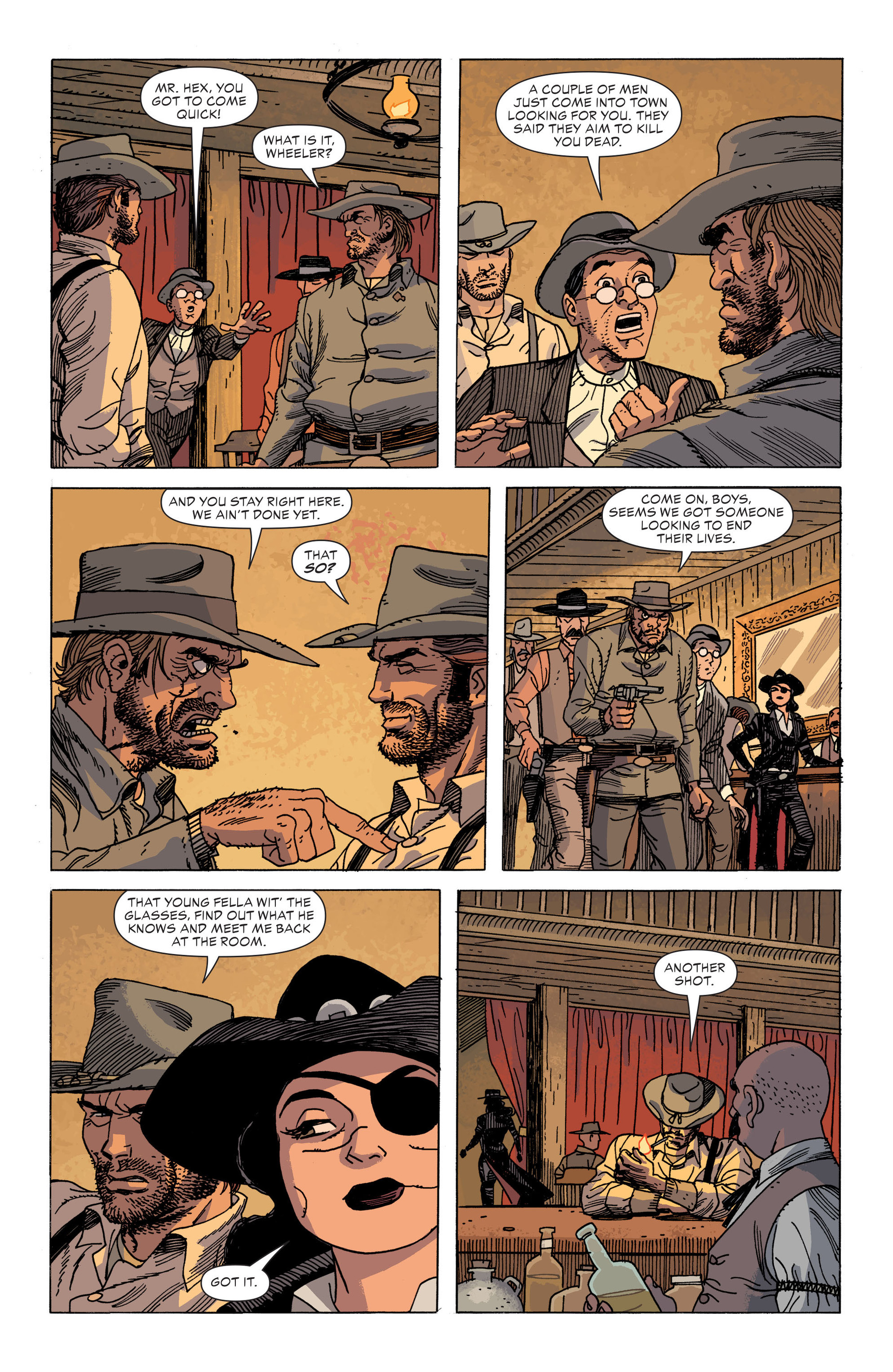Read online All-Star Western (2011) comic -  Issue #34 - 9