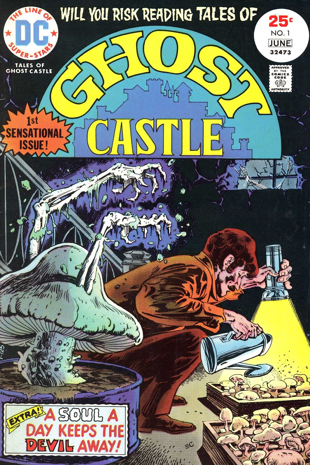 Read online Tales of Ghost Castle comic -  Issue #1 - 1