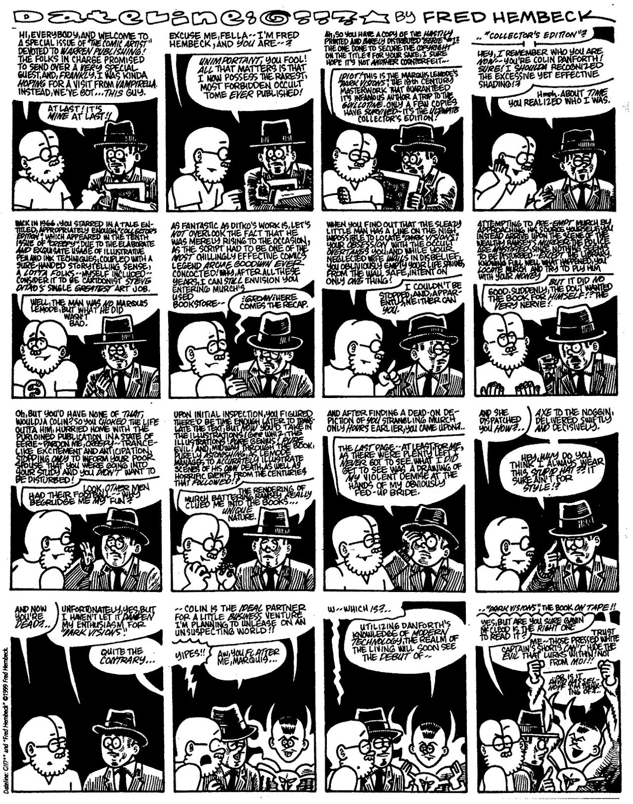 Read online The Nearly Complete Essential Hembeck Archives Omnibus comic -  Issue # TPB (Part 7) - 3