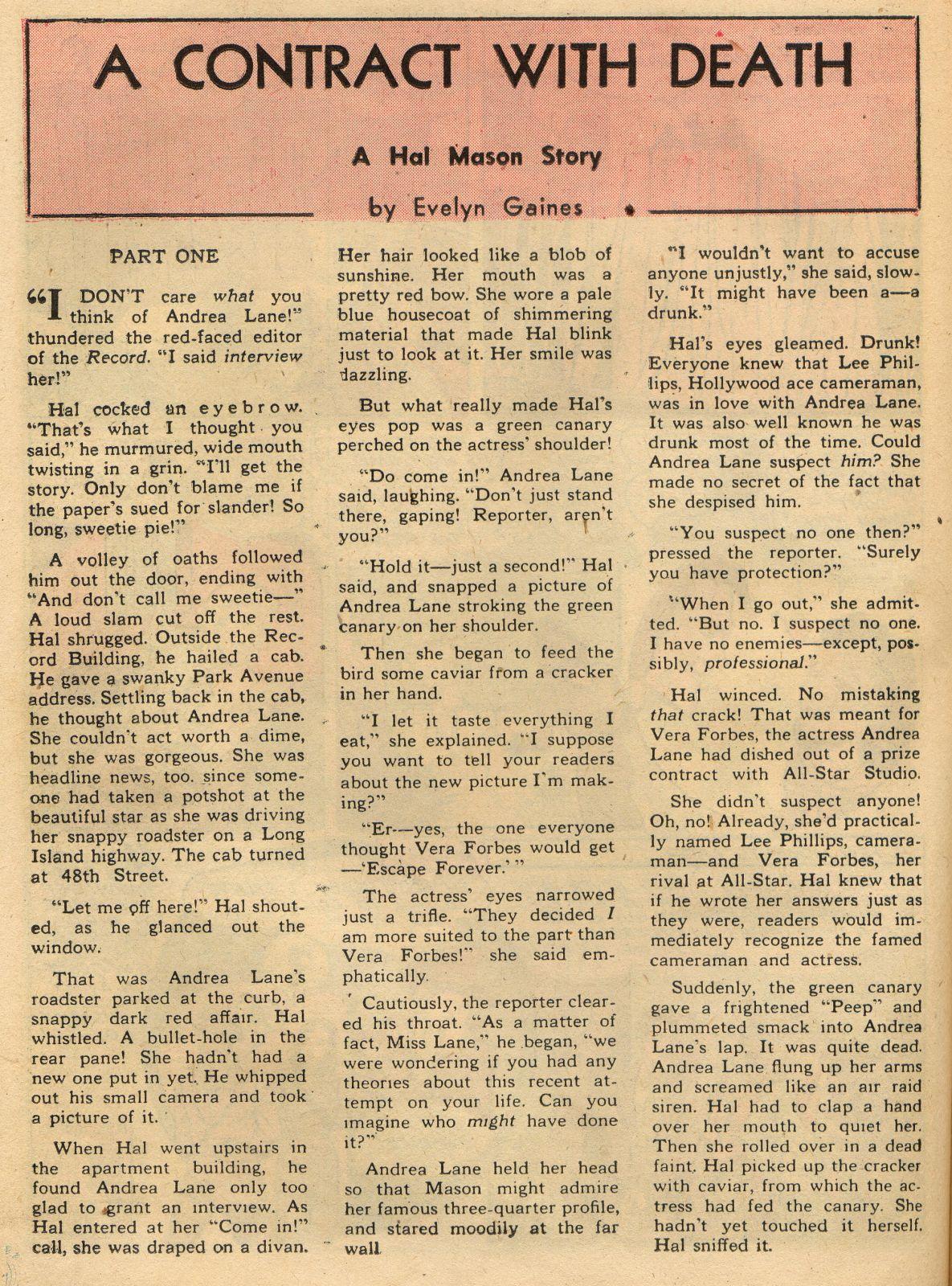 Read online Sensation (Mystery) Comics comic -  Issue #22 - 39