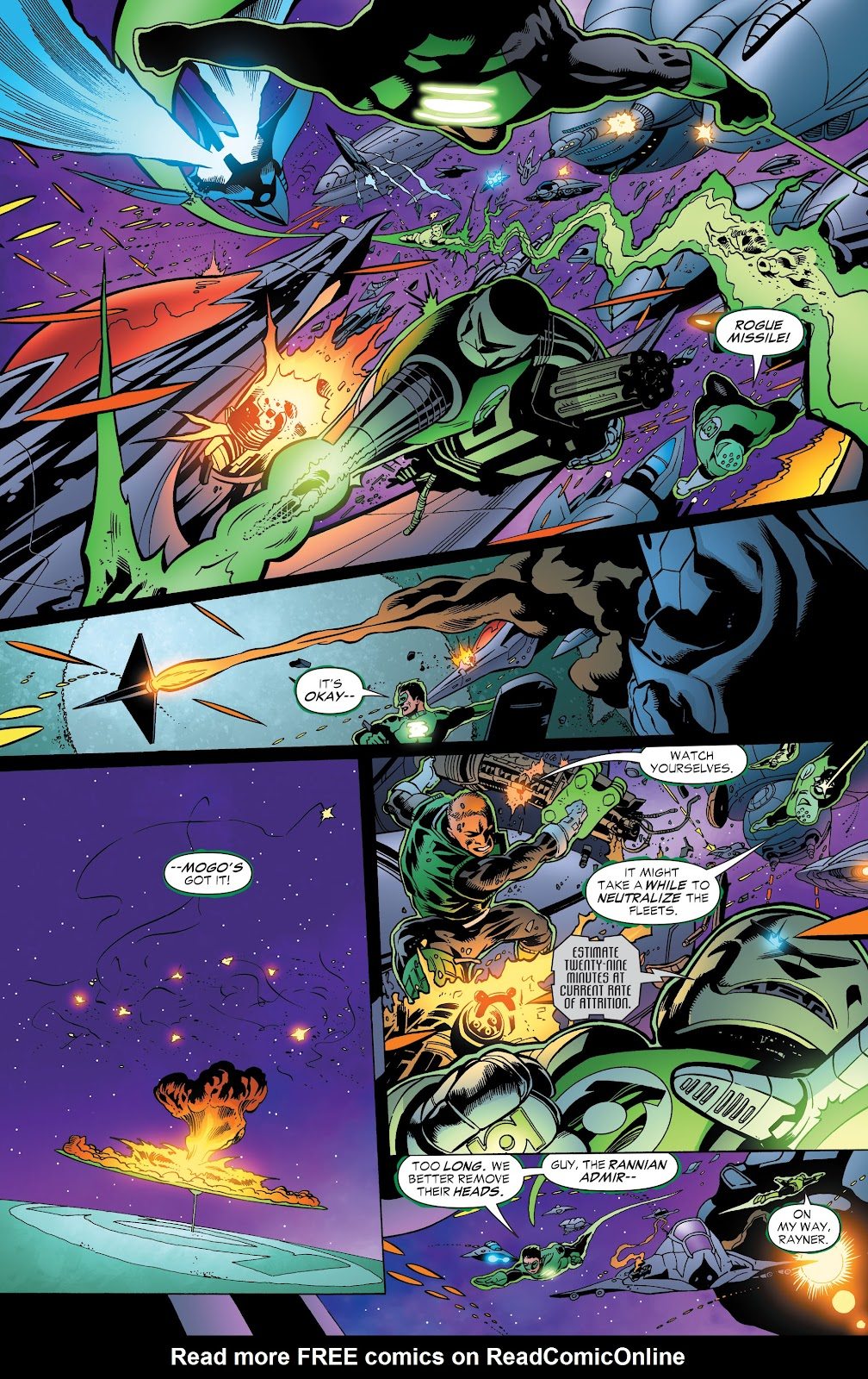 Read online Green Lantern by Geoff Johns comic -  Issue # TPB 1 (Part 3) - 13