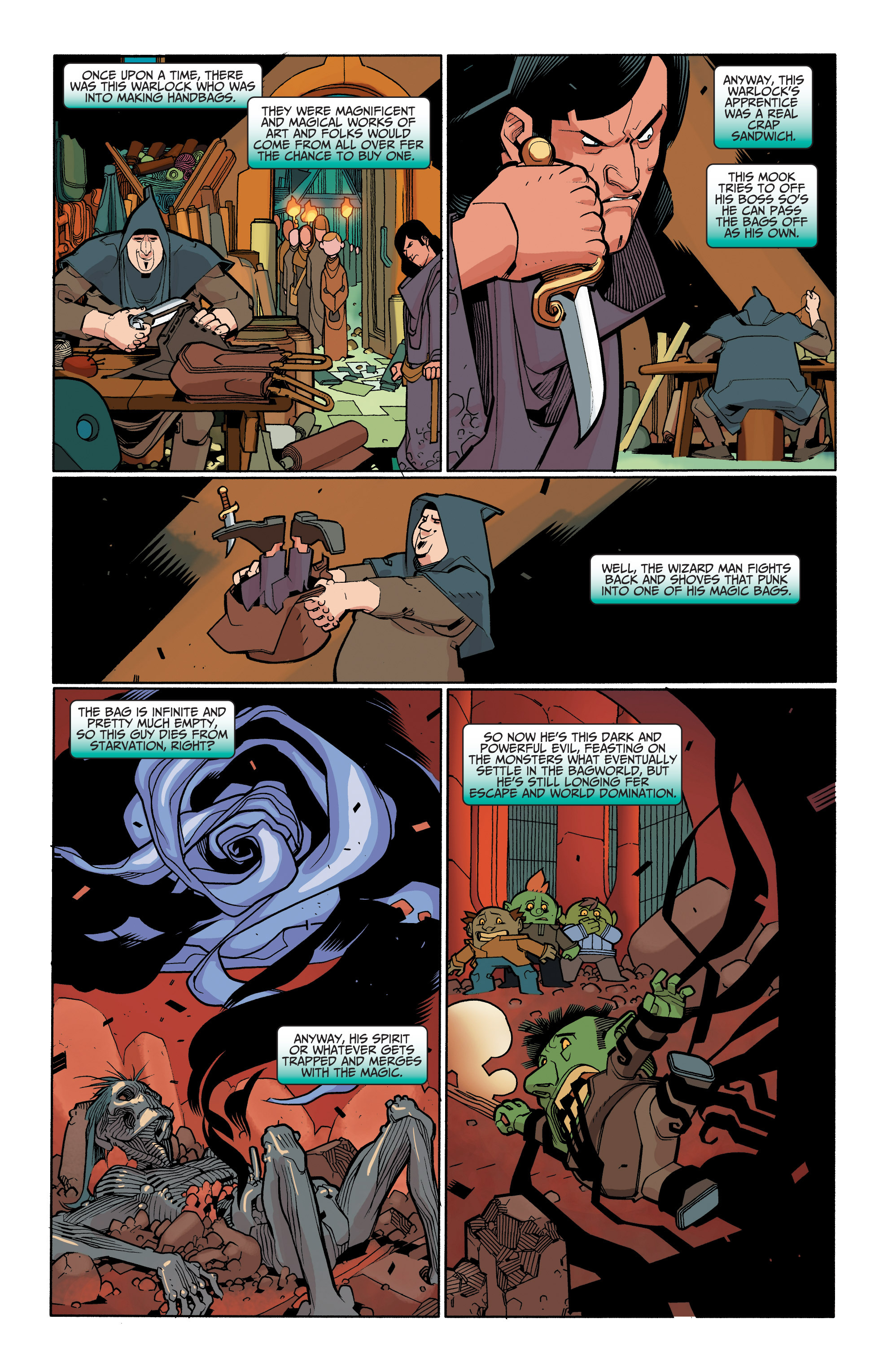 Read online A&A: The Adventures of Archer & Armstrong comic -  Issue #6 - 21
