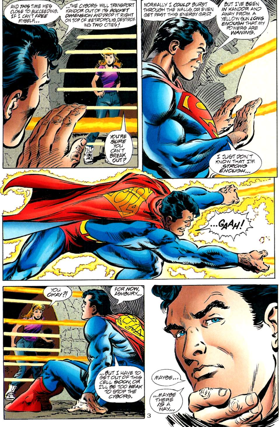 Read online Adventures of Superman (1987) comic -  Issue #563 - 4
