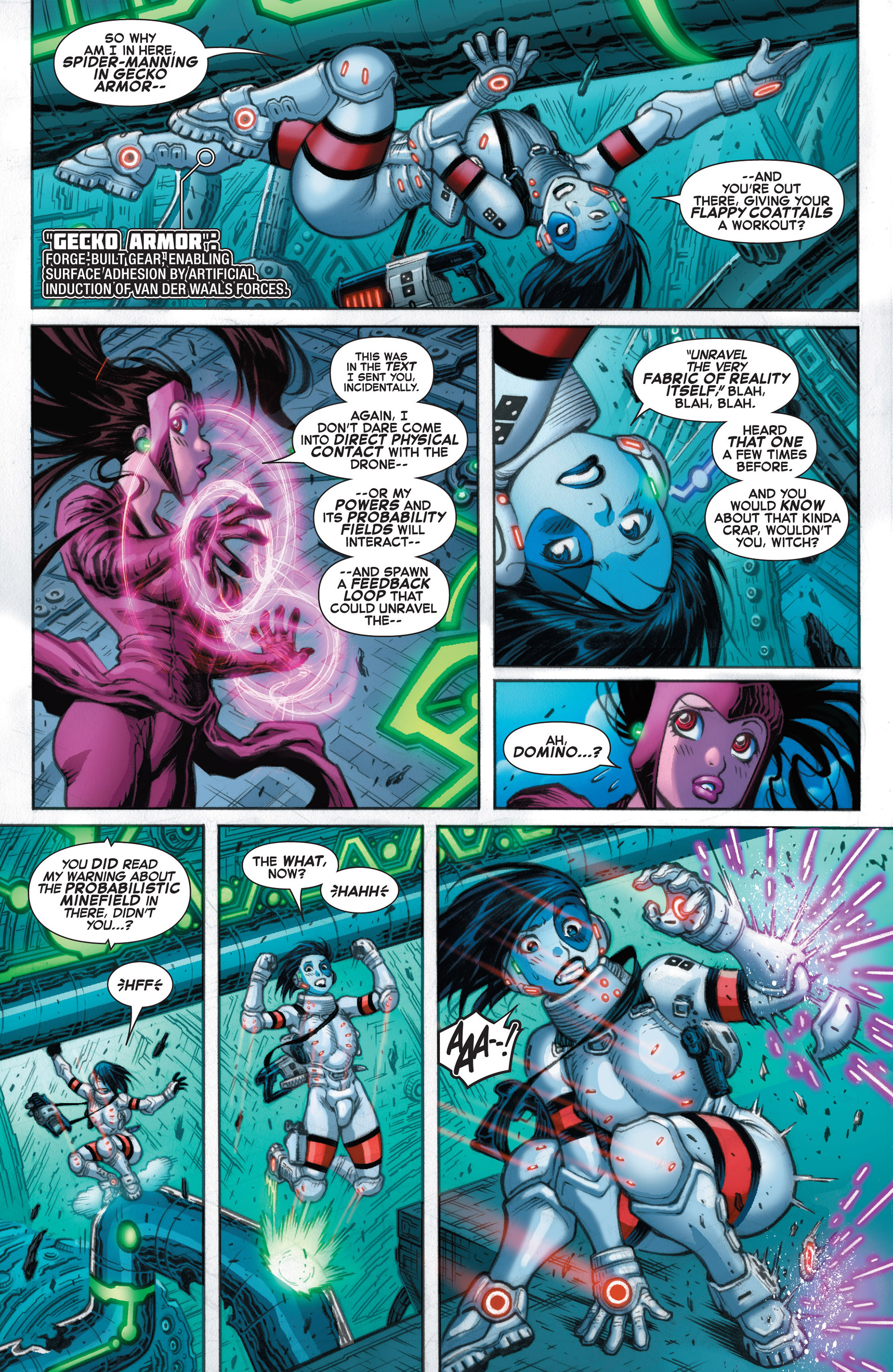 Read online A X comic -  Issue #10 - 15
