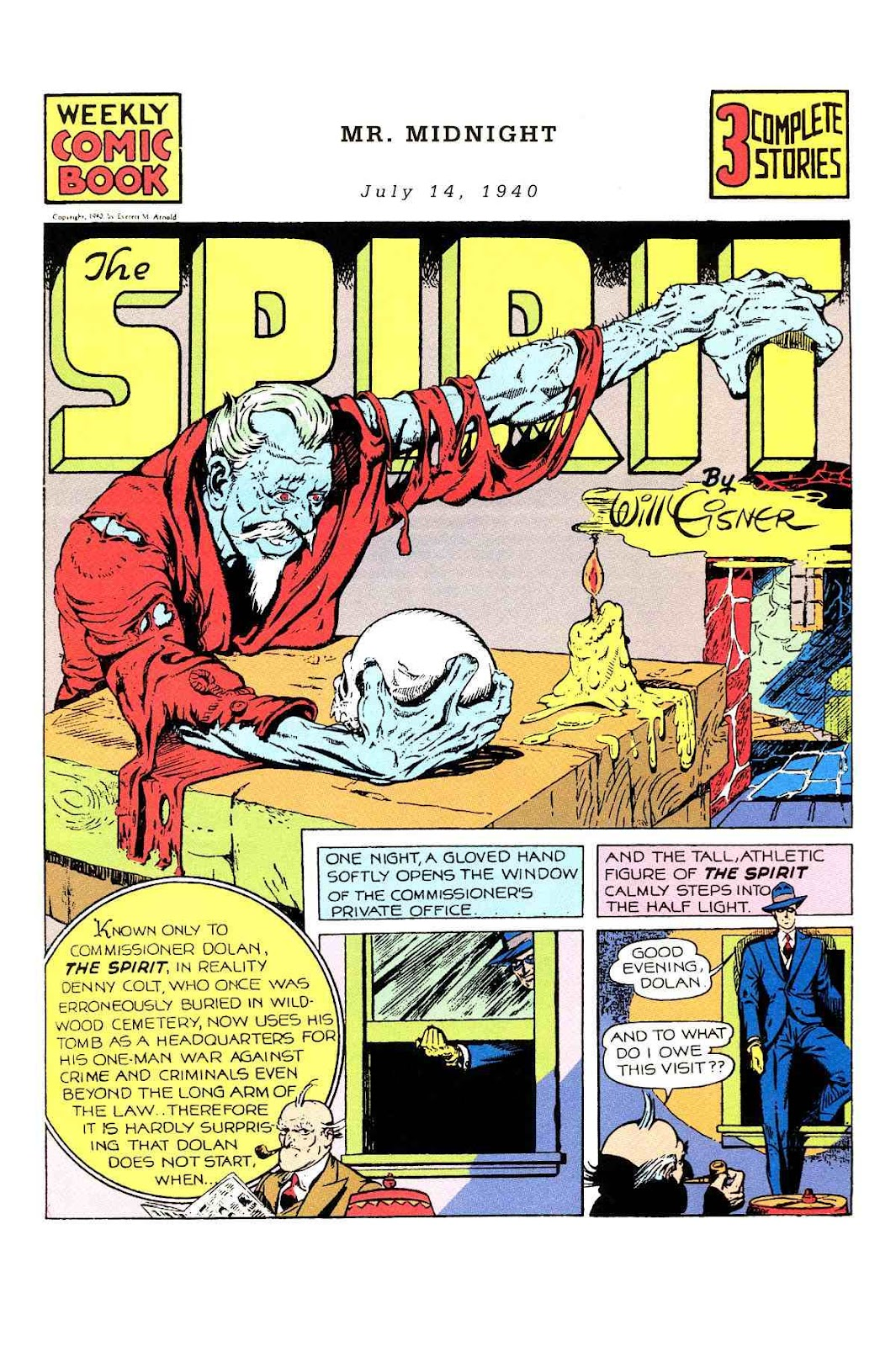 Read online Will Eisner's The Spirit Archives comic -  Issue # TPB 1 (Part 1) - 44